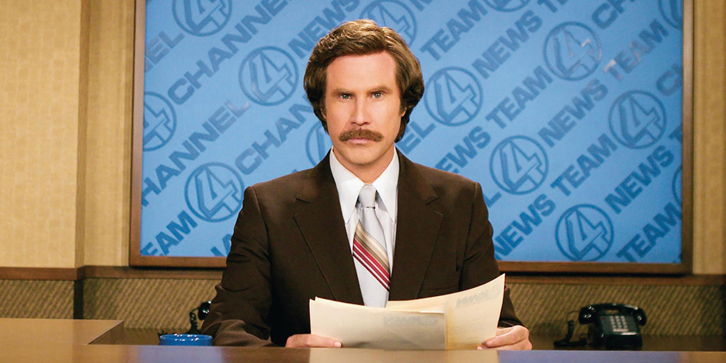 Will Ferrell appeared as Ron Burgundy on every late-night show last night