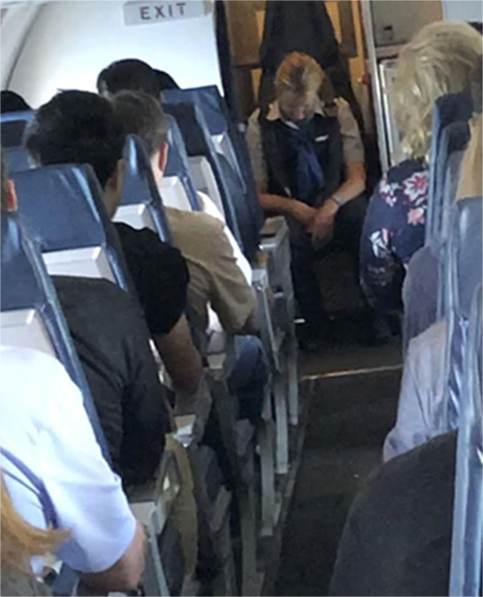Flight attendant accused of being drunk on flight is arrested and fired