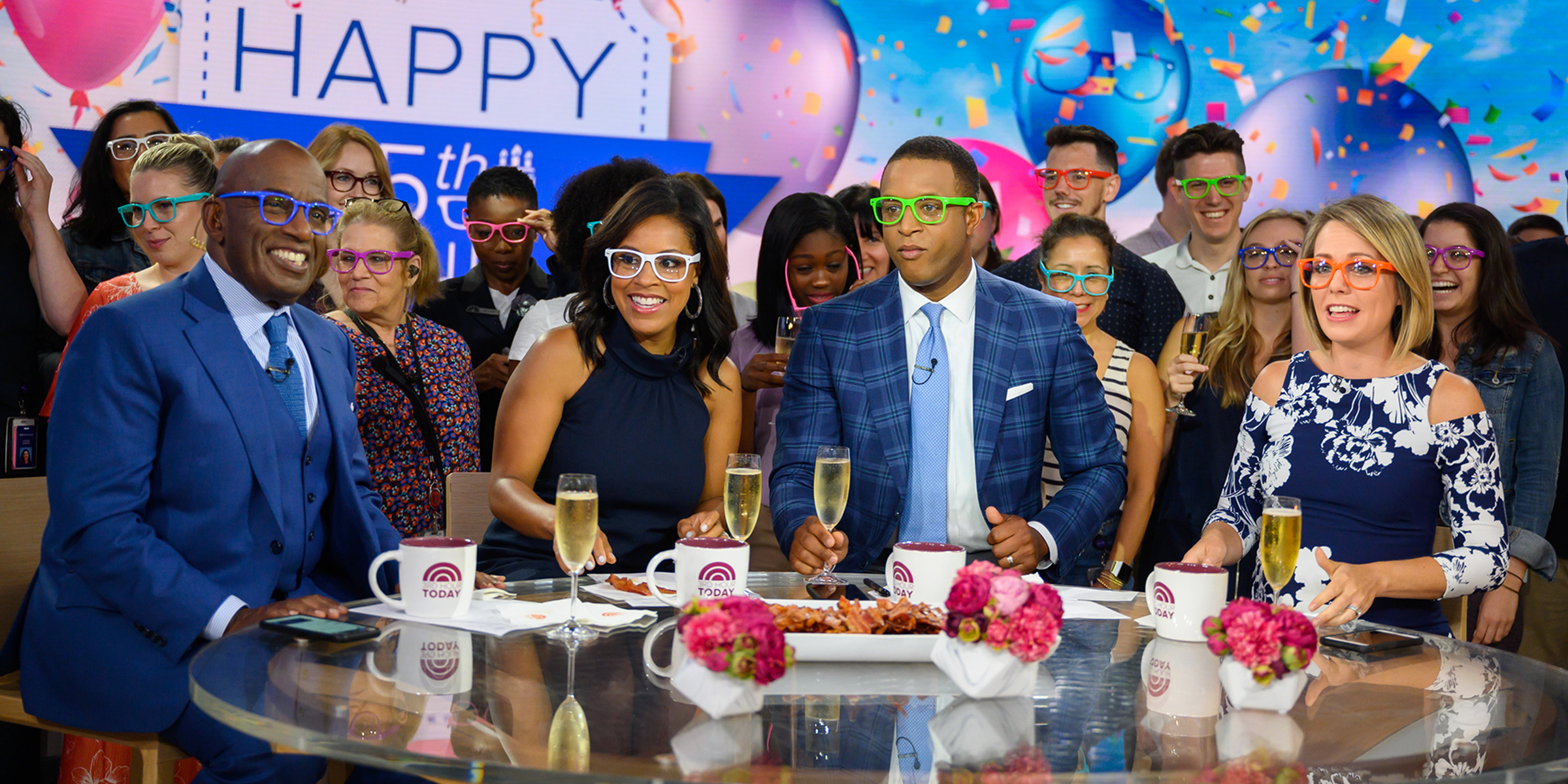 Al Roker surprised with early 65th birthday party on TODAY