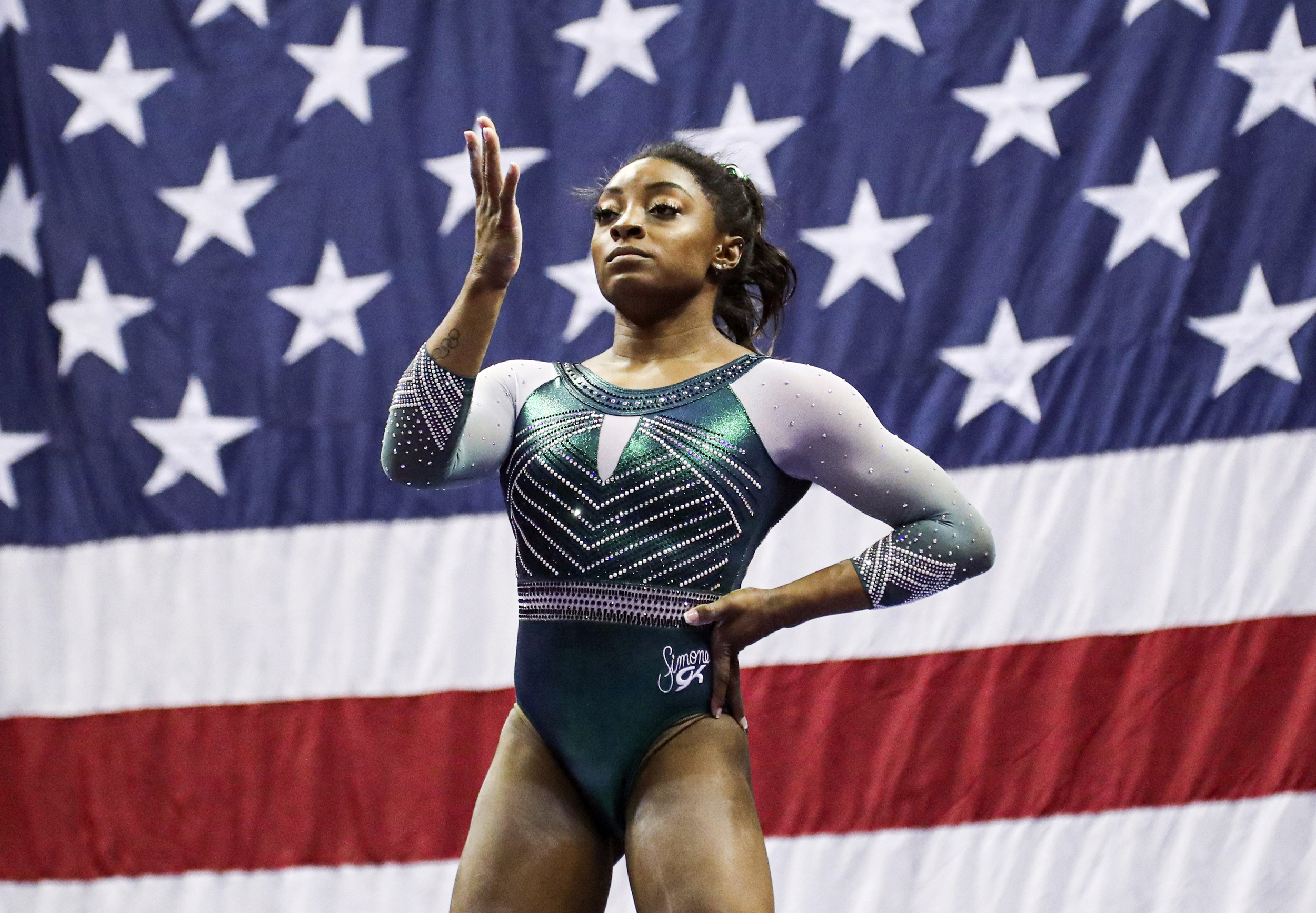 Simone Biles having 'hard time processing' brother's arrest