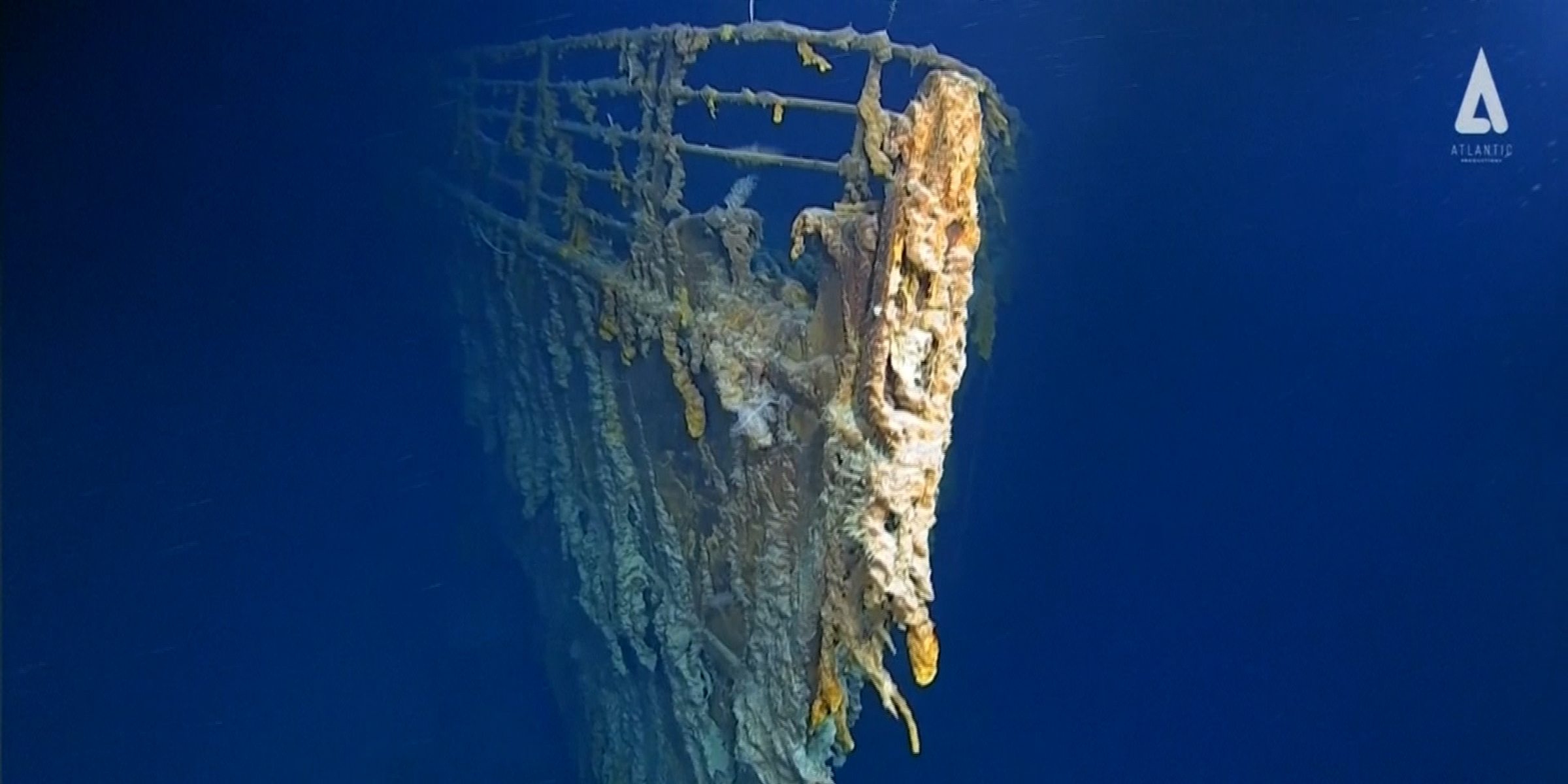First images of the Titanic in 14 years show 'shocking' deterioration