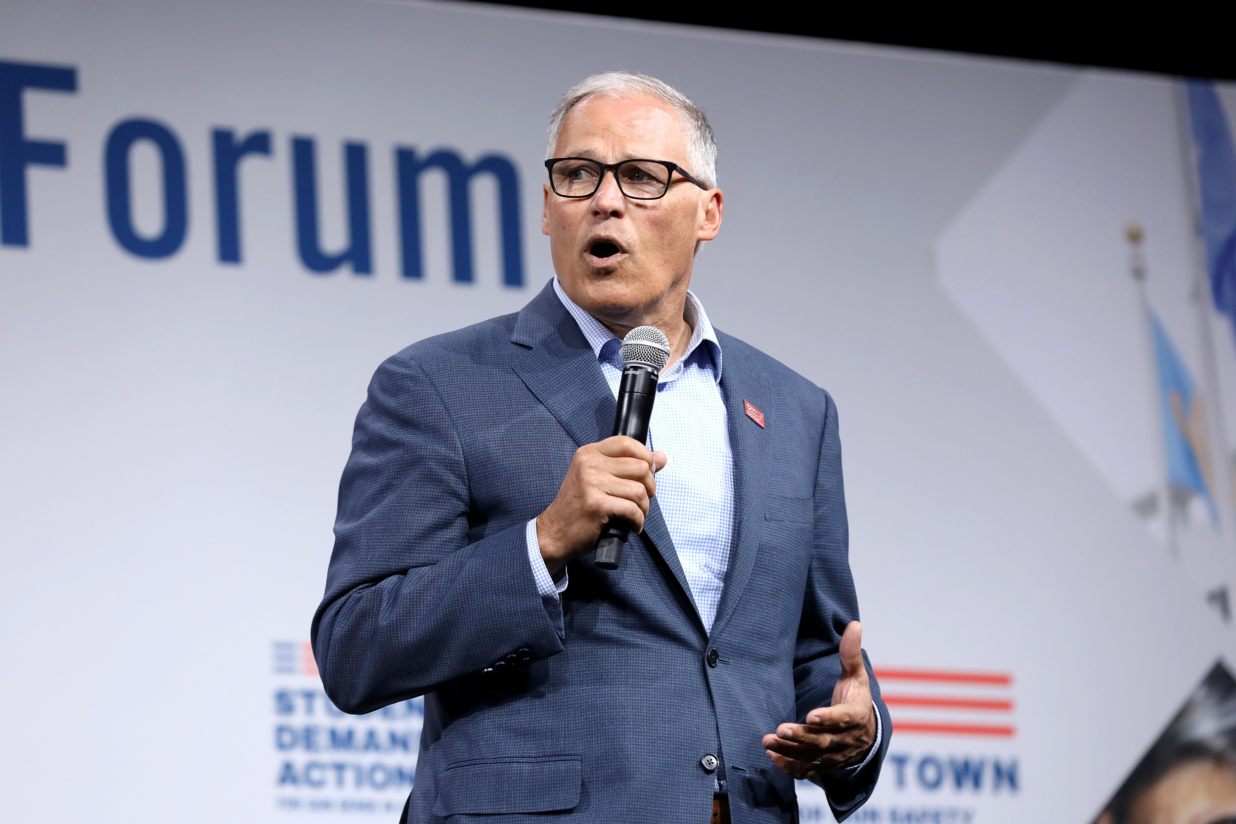 Jay Inslee drops out of the 2020 presidential race