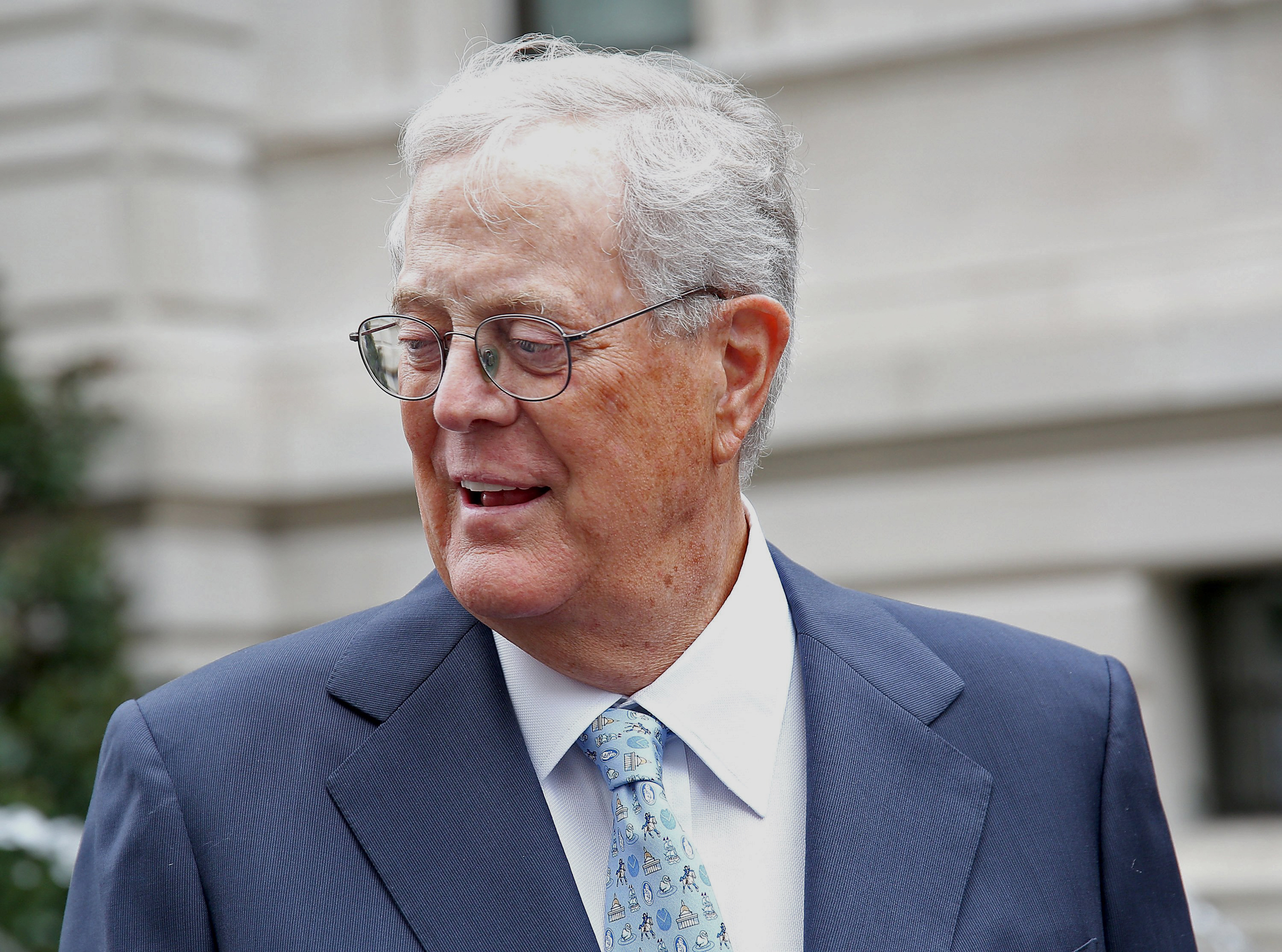 Charles David Koch We Know Who You Are >> David Koch Billionaire Conservative Activist And Philanthropist