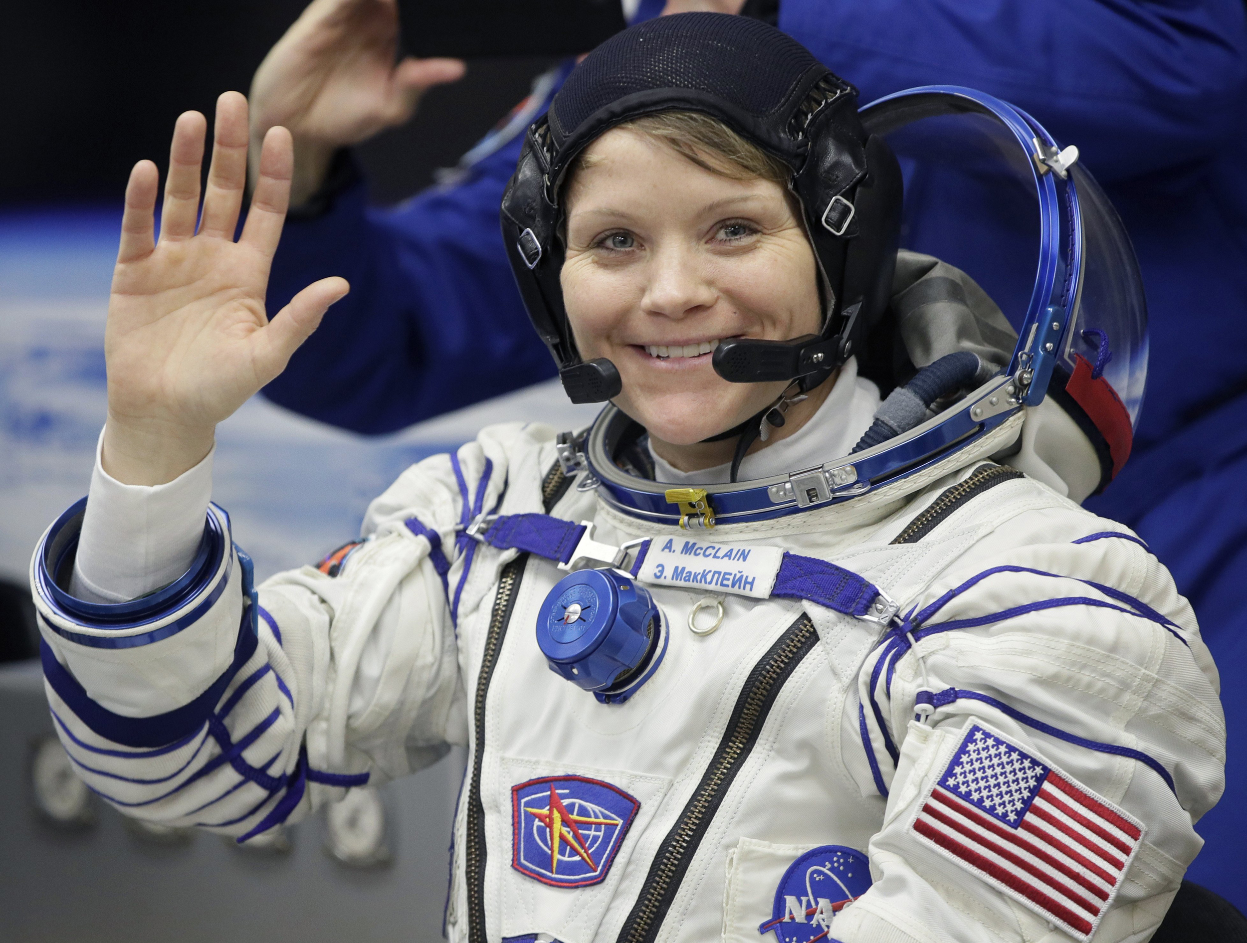 Image result for images of US astronaut, Anne McClain accused of hacking her spouse's bank account from space