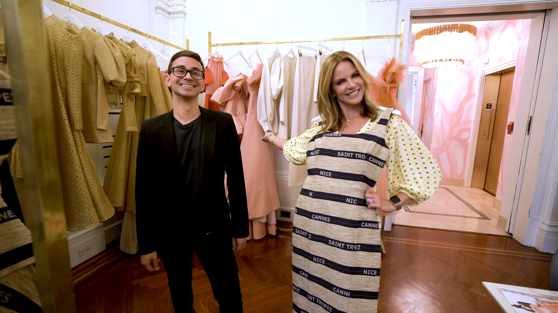 Christian Siriano gives TODAY an exclusive look at his studio — see inside!