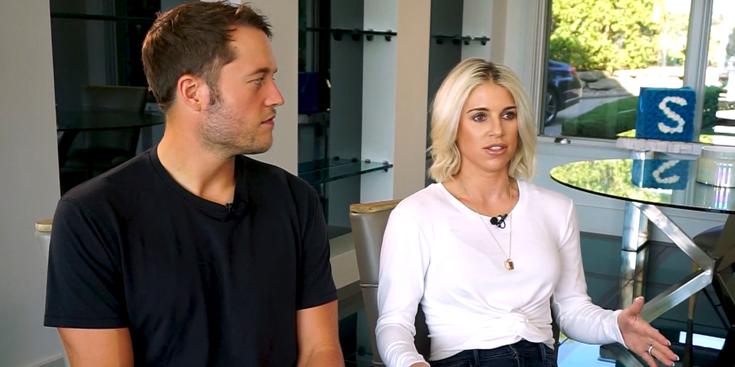 Kelly Stafford Wife Of Nfl Star Matthew Stafford Opens Up About Brain Tumor Recovery