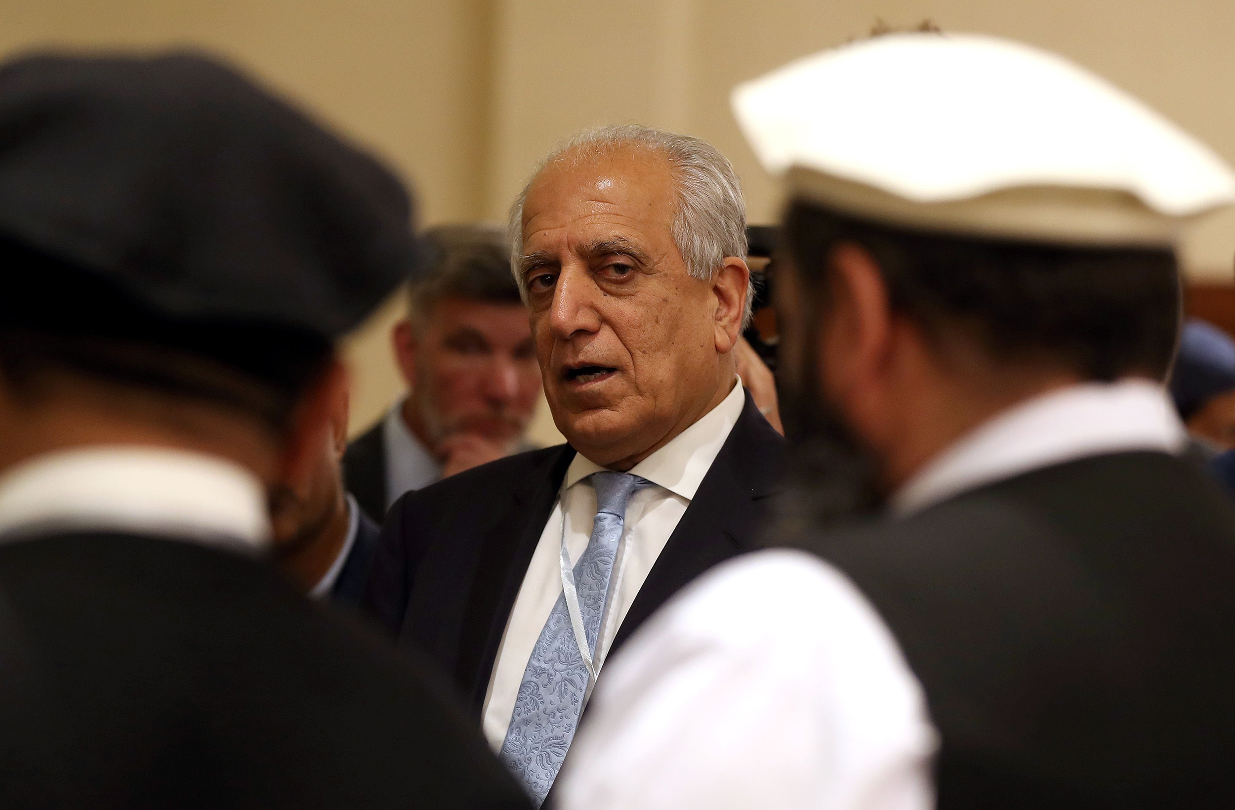 Afghan Dan trump's envoy clashes with afghan government over proposed