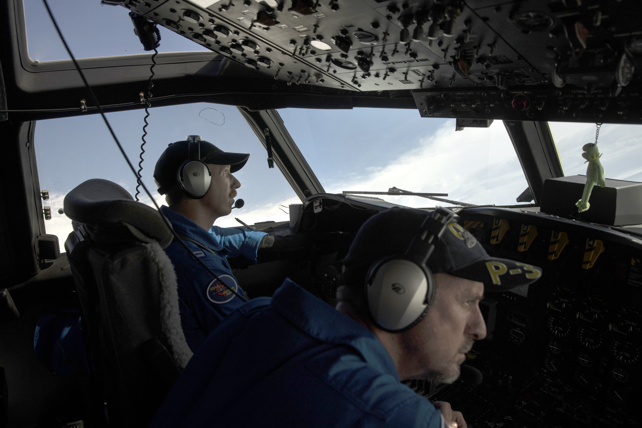 Researchers fly through Hurricane Dorian to learn science behind devastation