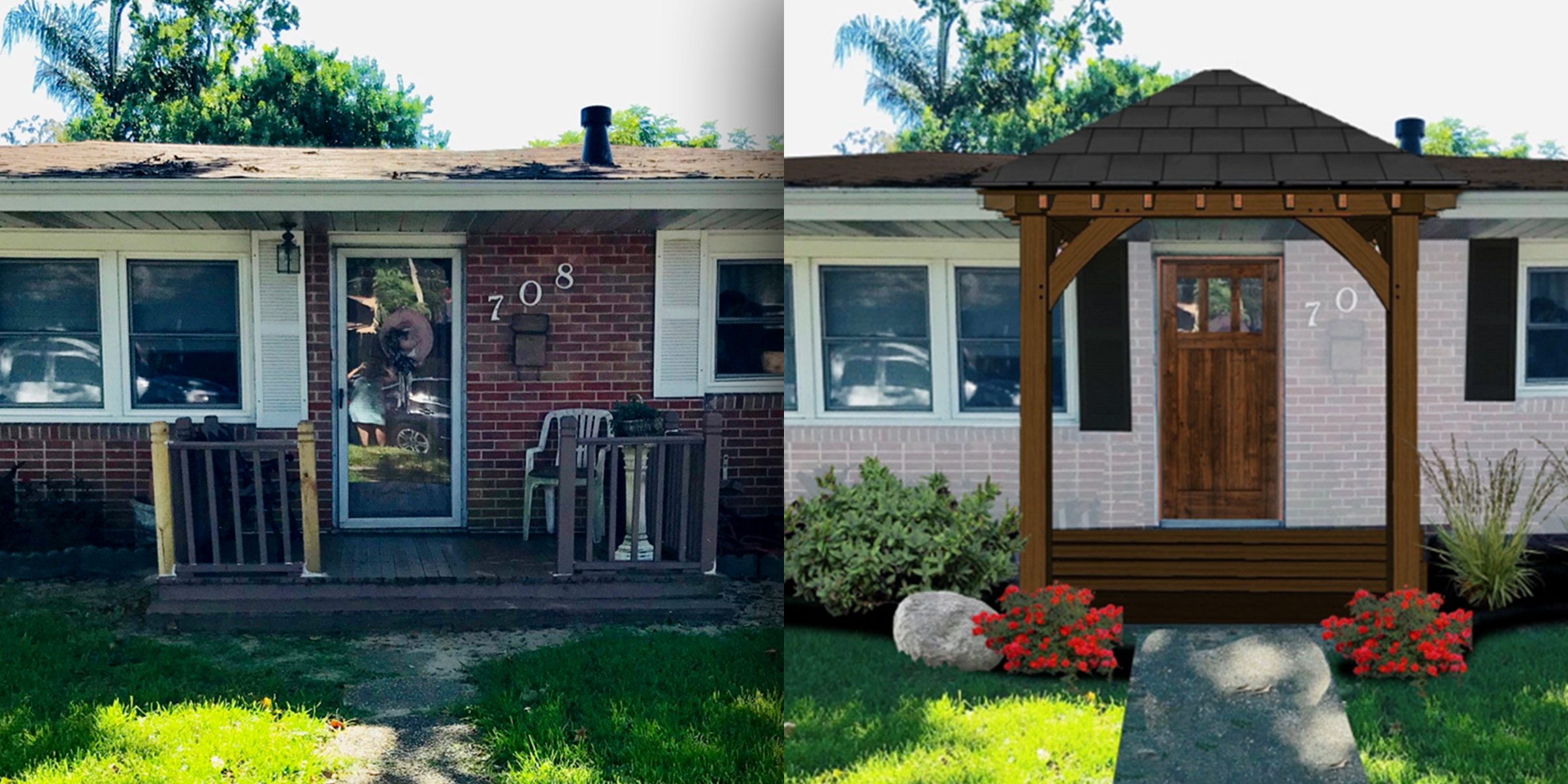 It's all about curb appeal! Here's how to increase your home's value