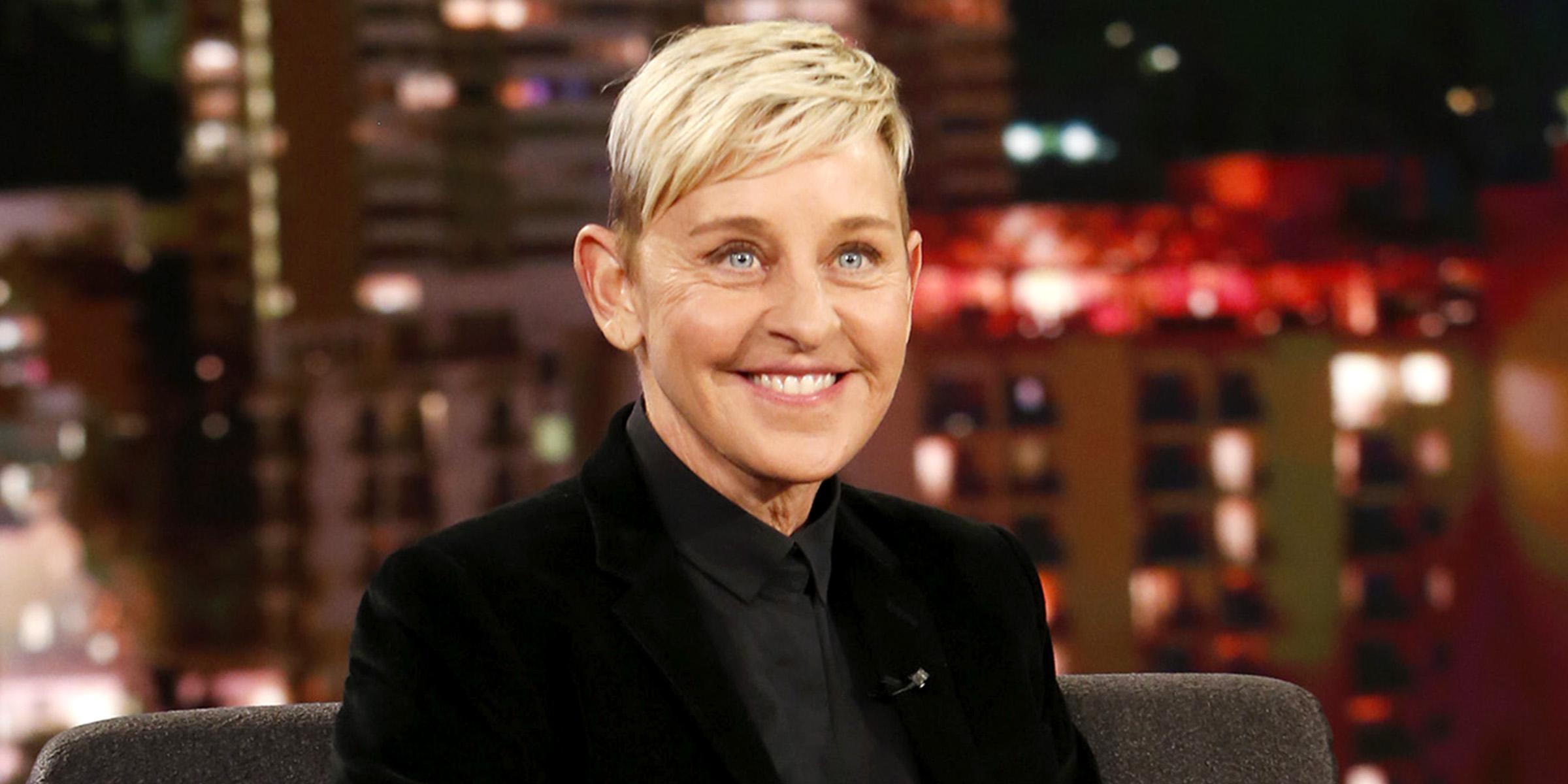 Ellen DeGeneres reveals natural hair color for the 1st time