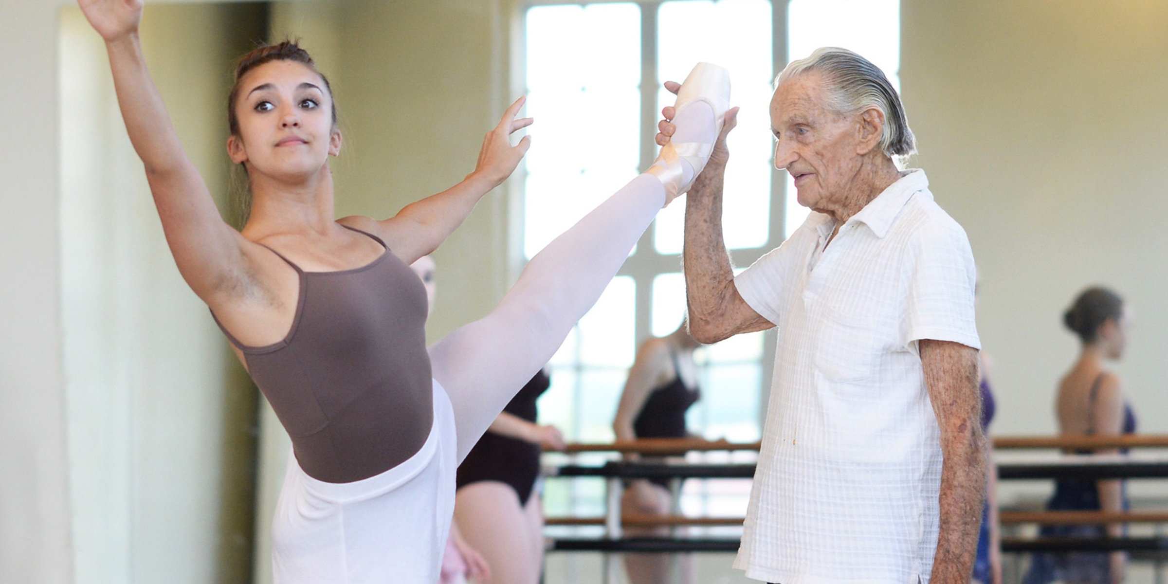 100-year-old ballet teacher shares