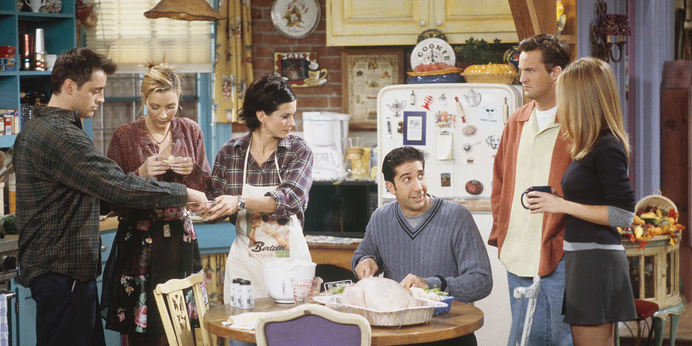 This 'Friends' tour includes a Thanksgiving feast that would make Monica proud