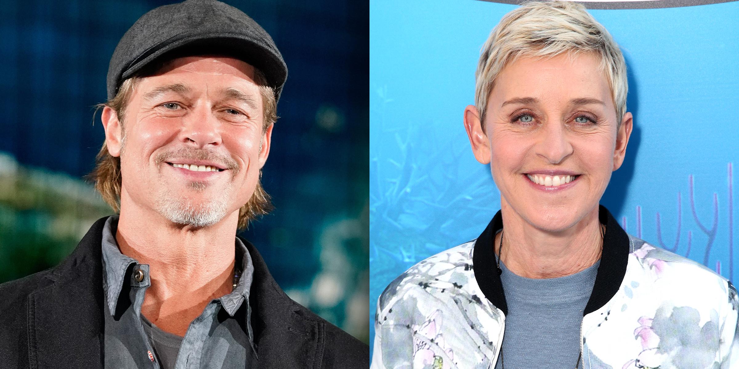 Brad Pitt proves he's an Ellen DeGeneres superfan