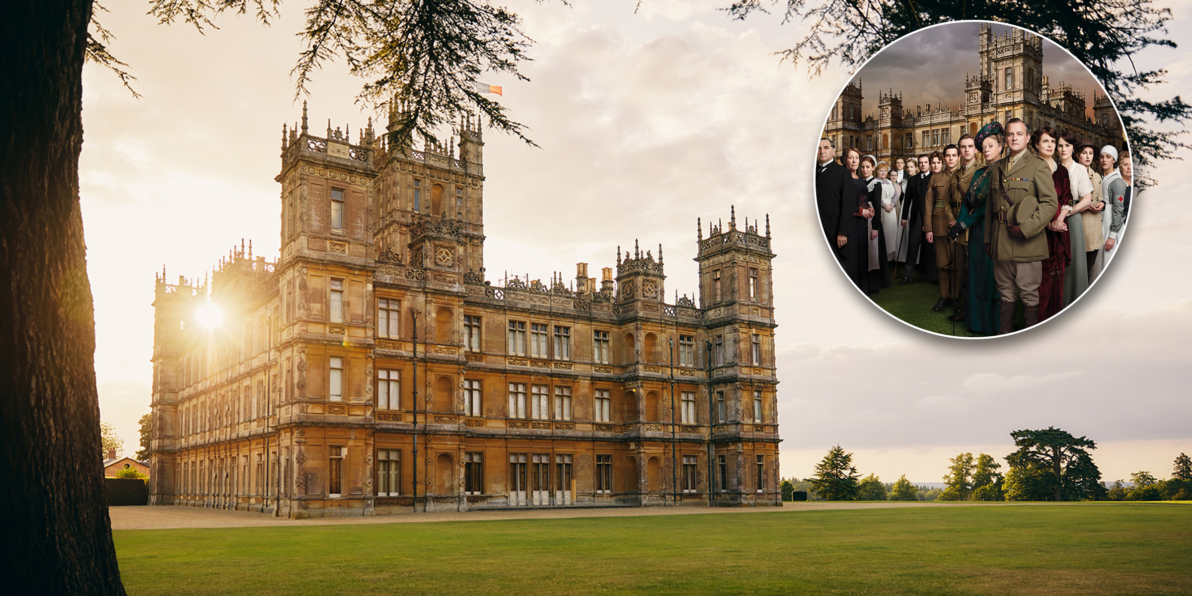 You can stay overnight at the castle from 'Downton Abbey'
