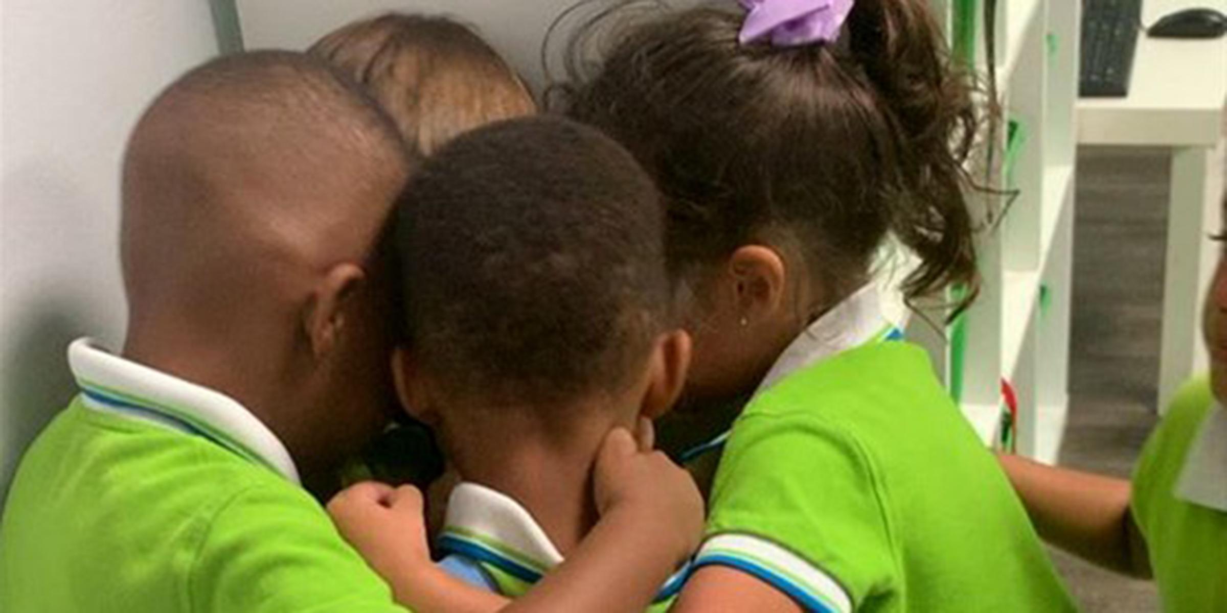 Hurricane Dorian survivor gets warm welcome from classmates