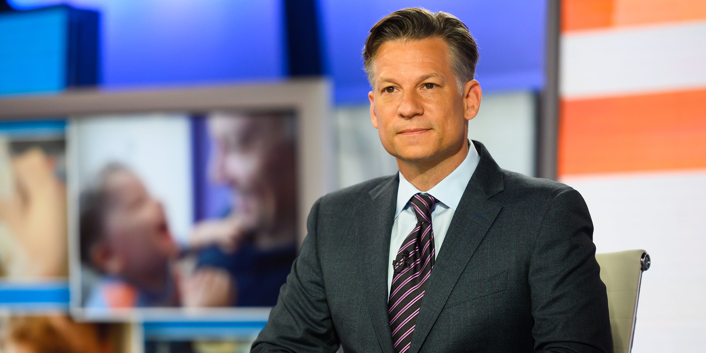 Richard Engel shares difficulty of watching baby son 'pass' by older brother with Rett syndrome
