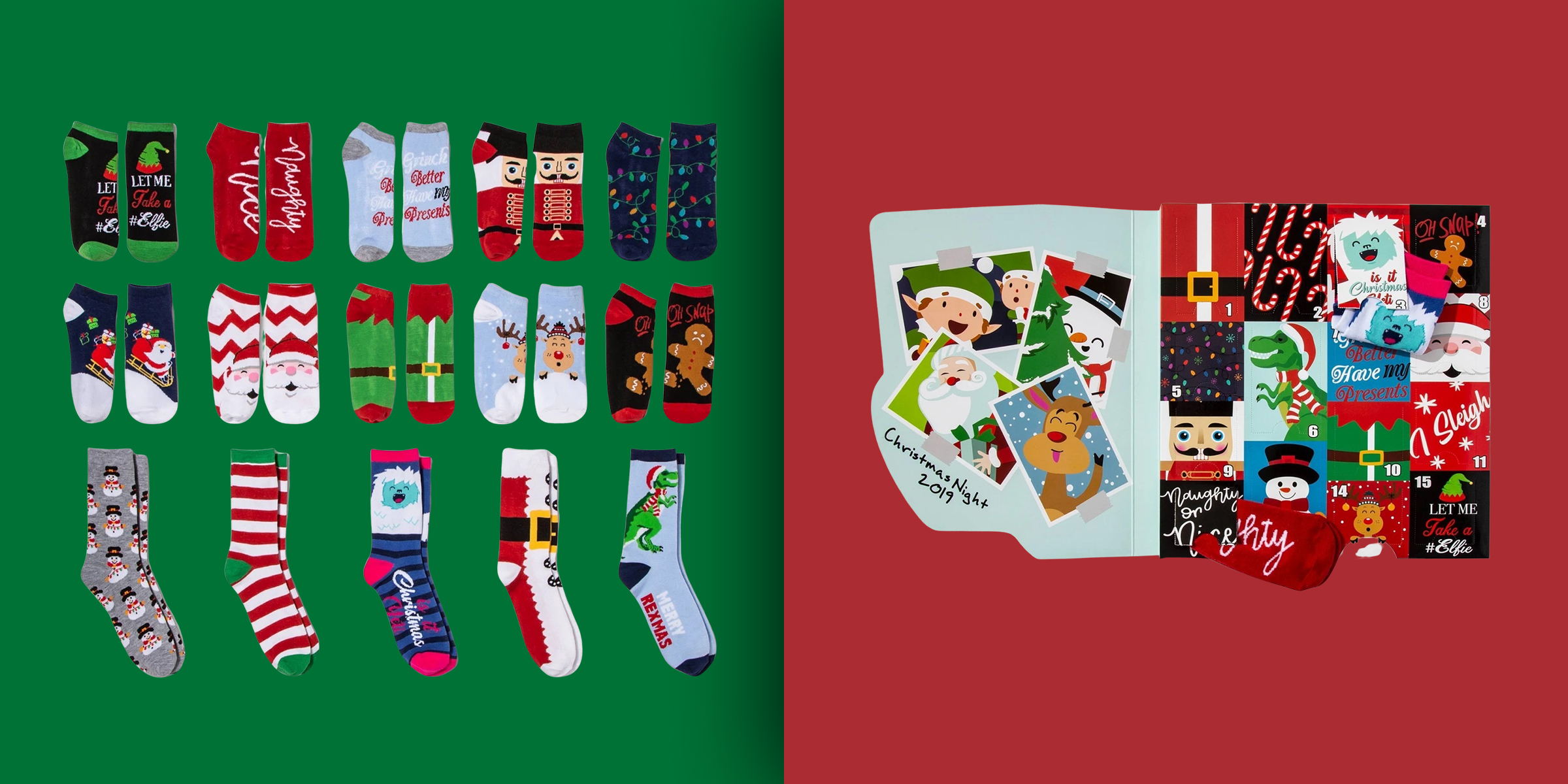 Sock Advent Calendars Are Popular For The 2019 Holiday Season