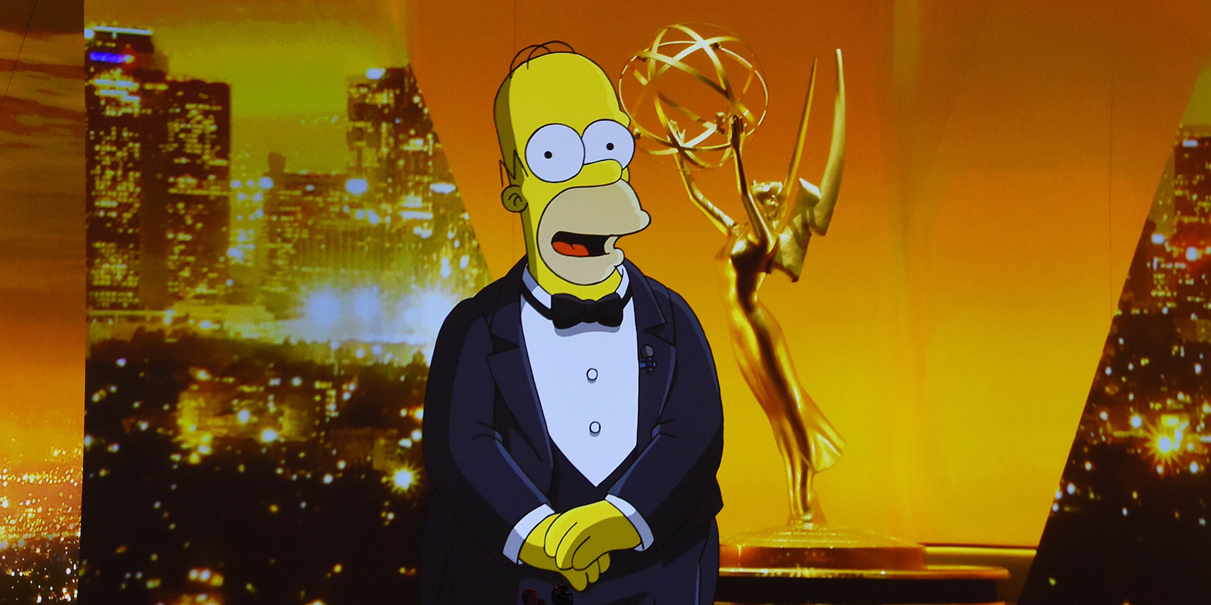 Here's how Homer Simpson kicked off a chaotic Emmys opening
