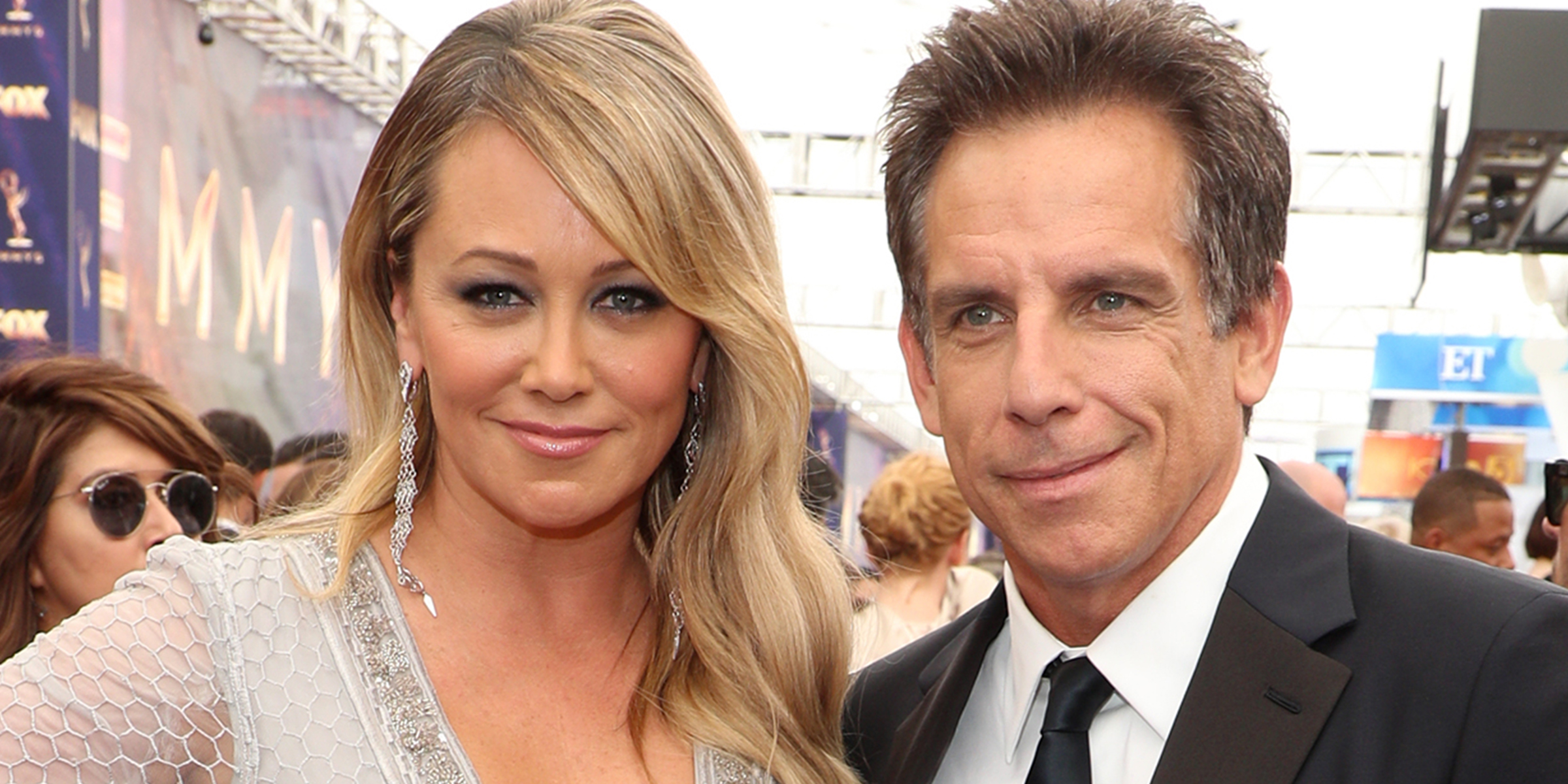 Ben Stiller and Christine Taylor attend Emmys together 2 years after splitting up