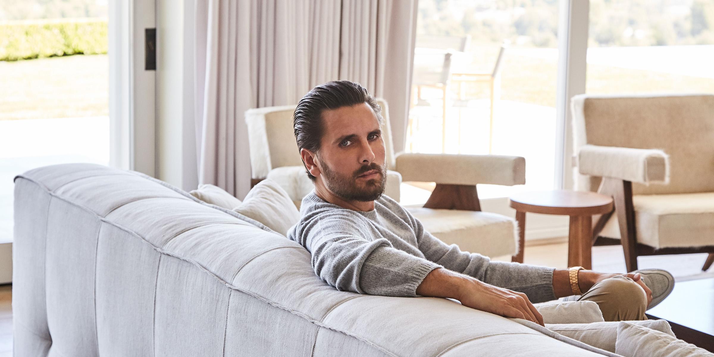 See inside Scott Disick's sleek and minimalist California home