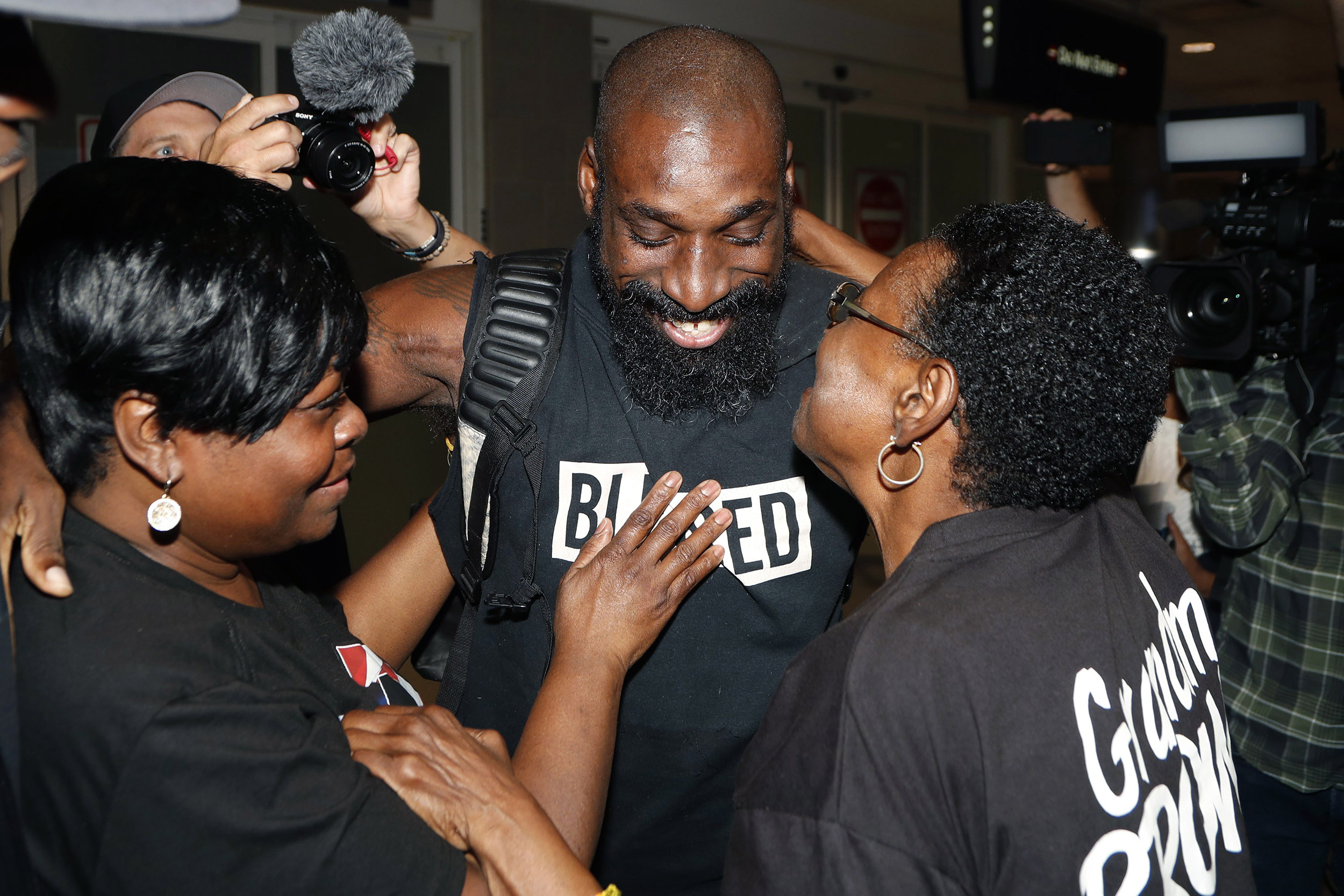 U.S. football player Wendell Brown released from Chinese prison