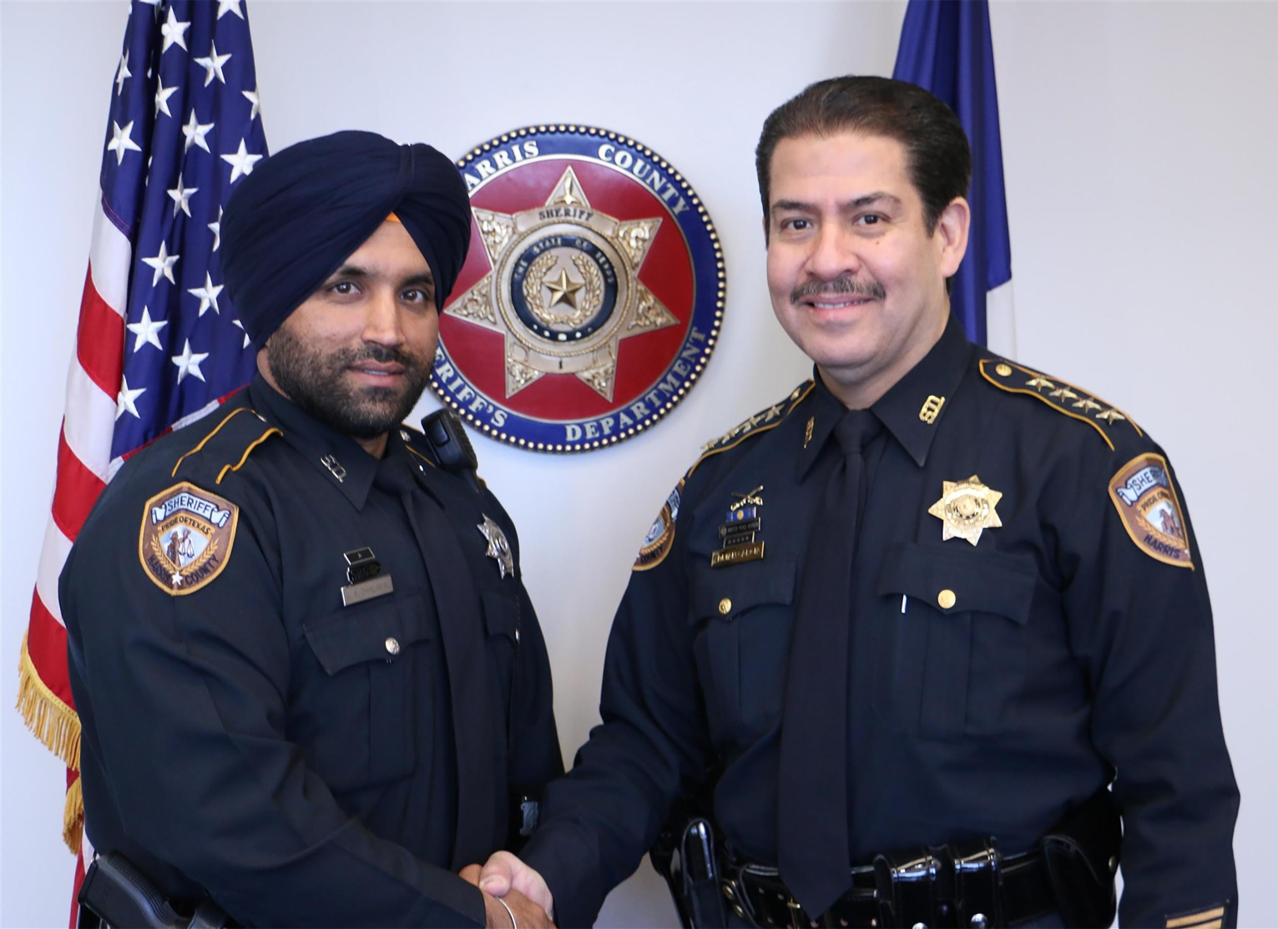 Houston department's first Sikh deputy
