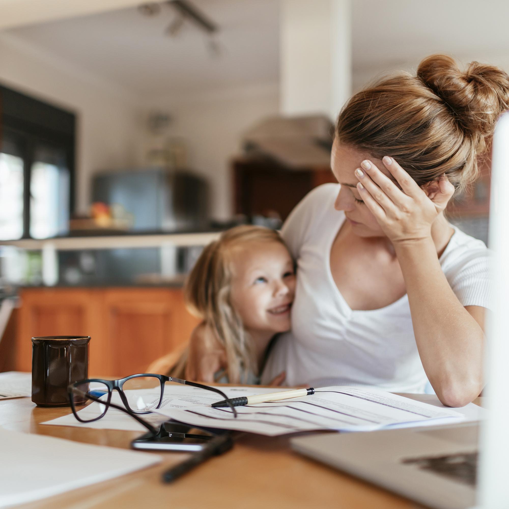 Working moms struggle most when kids start school