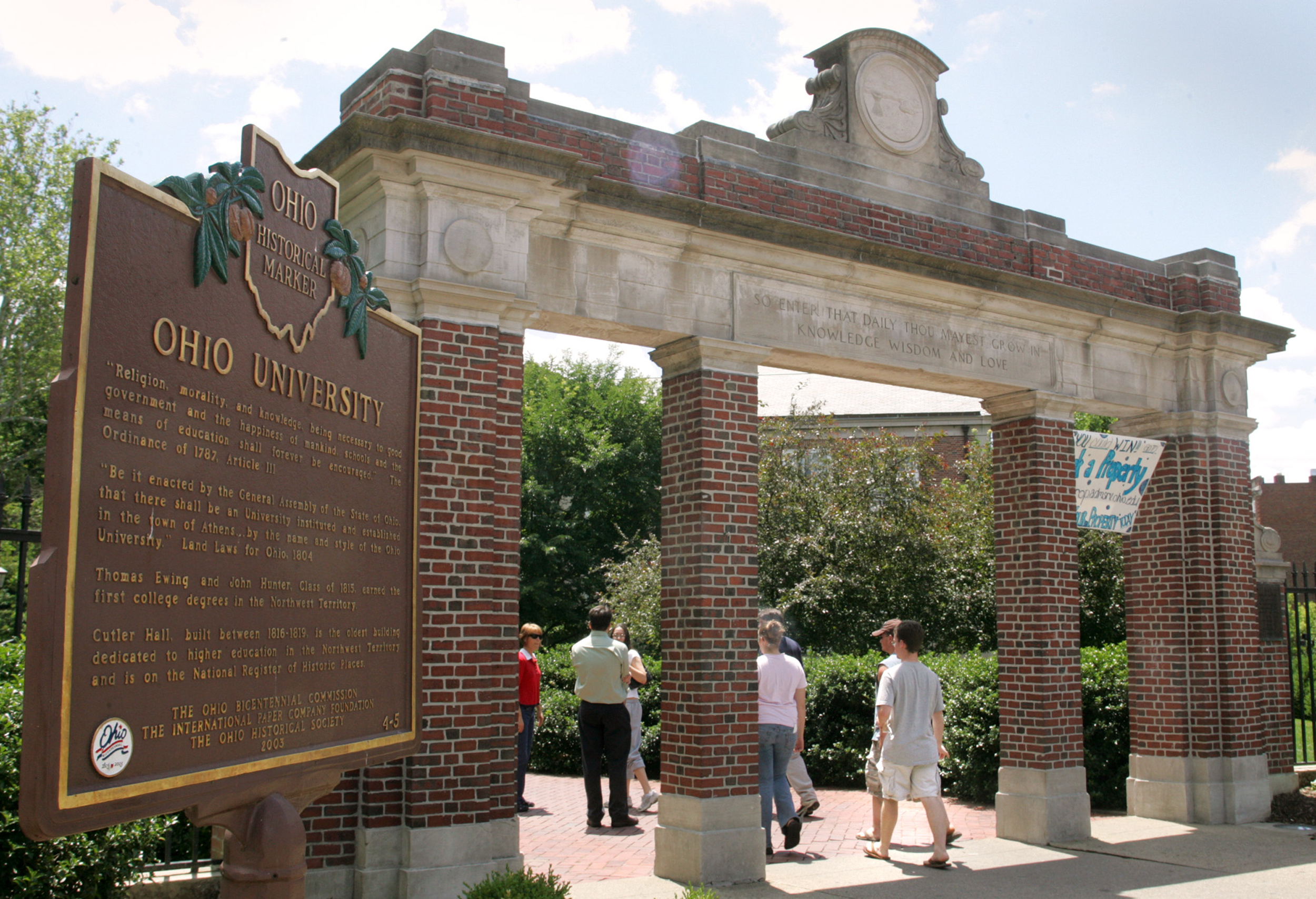 Ohio University suspends all fraternities over hazing allegations