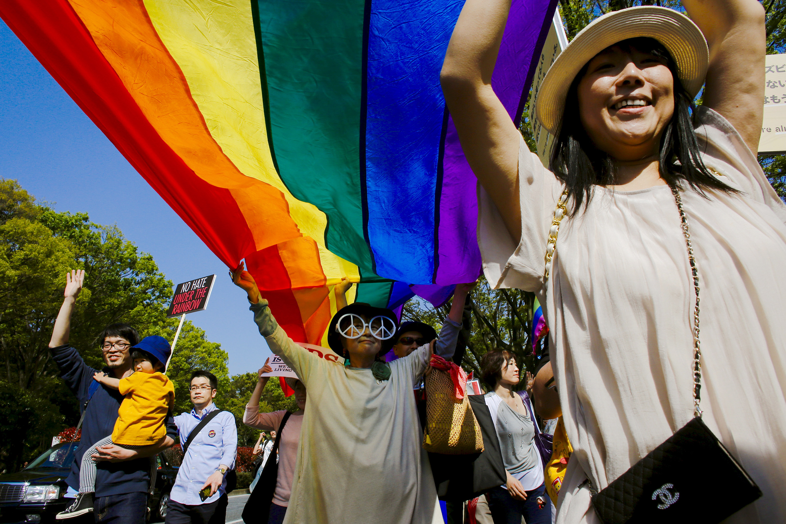 Japanese MP floats idea of revising constitution to allow gay marriage