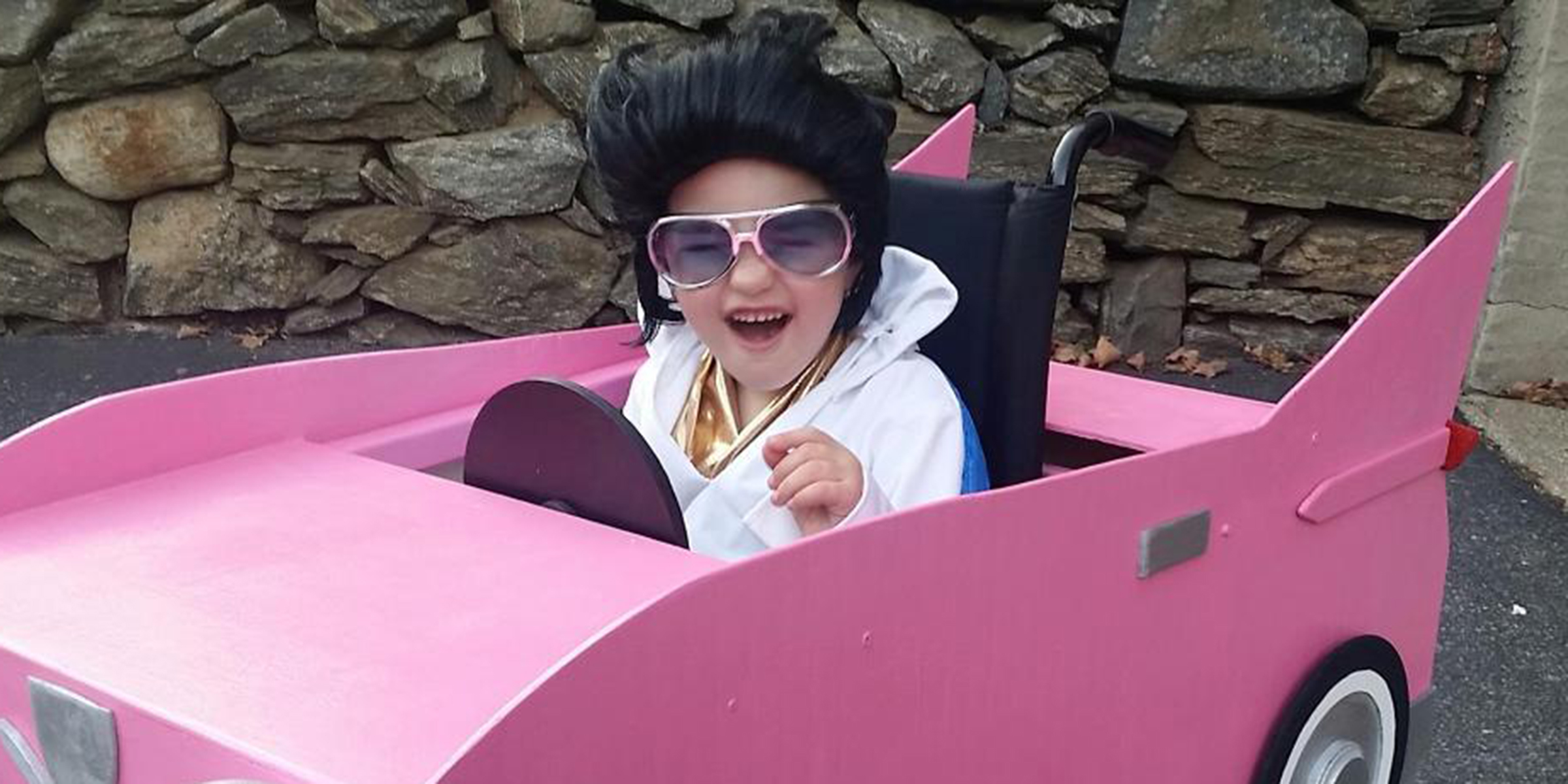 'Most positive kid' with terminal illness has epic wheelchair Halloween costumes