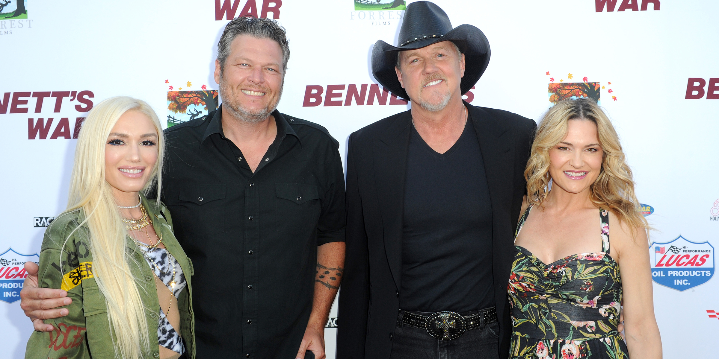 Blake Shelton officiated pal Trace Adkins' wedding to Victoria Pratt