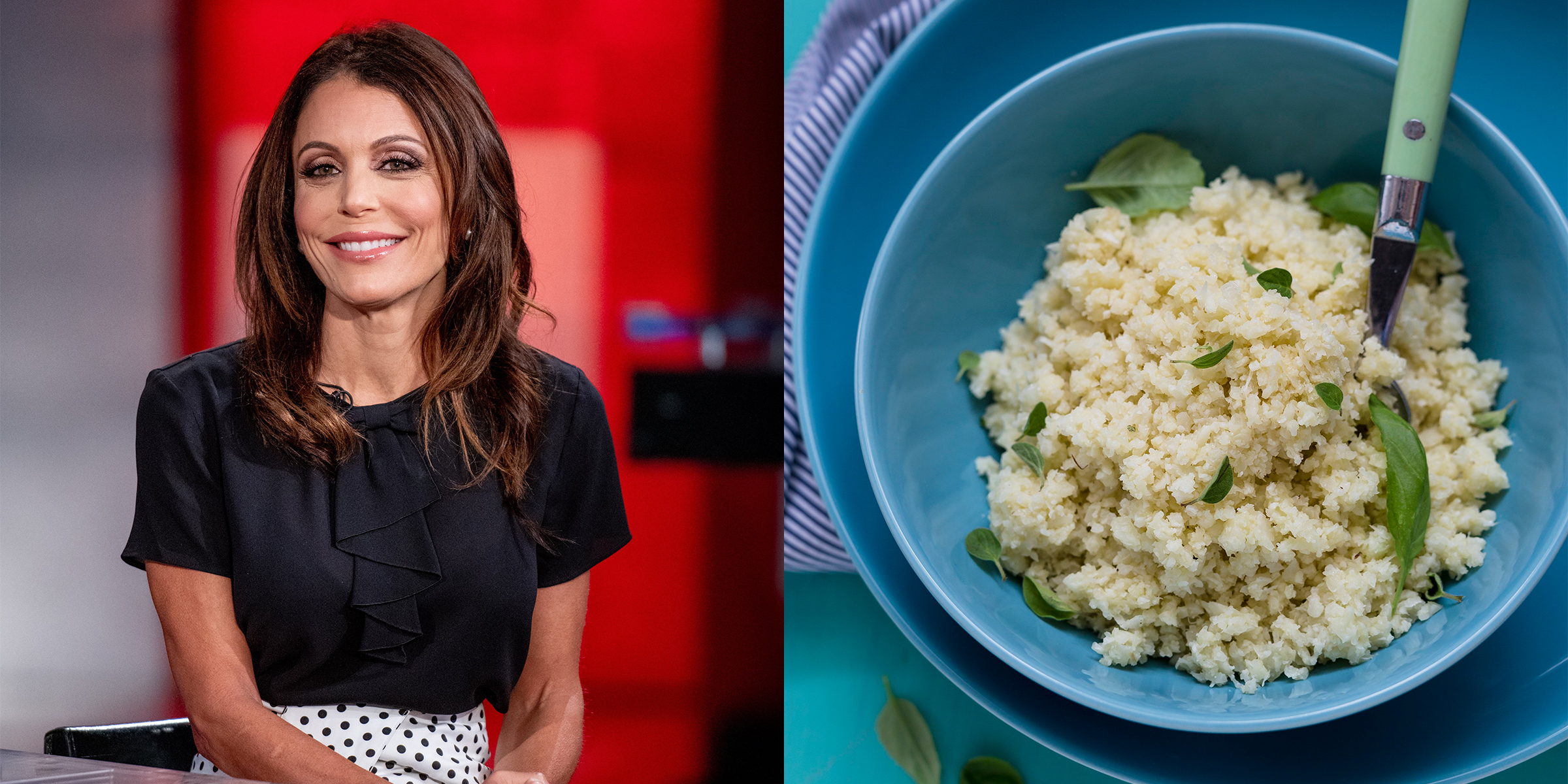 Bethenny Frankel's healthy cauliflower rice hack takes just 5 minutes
