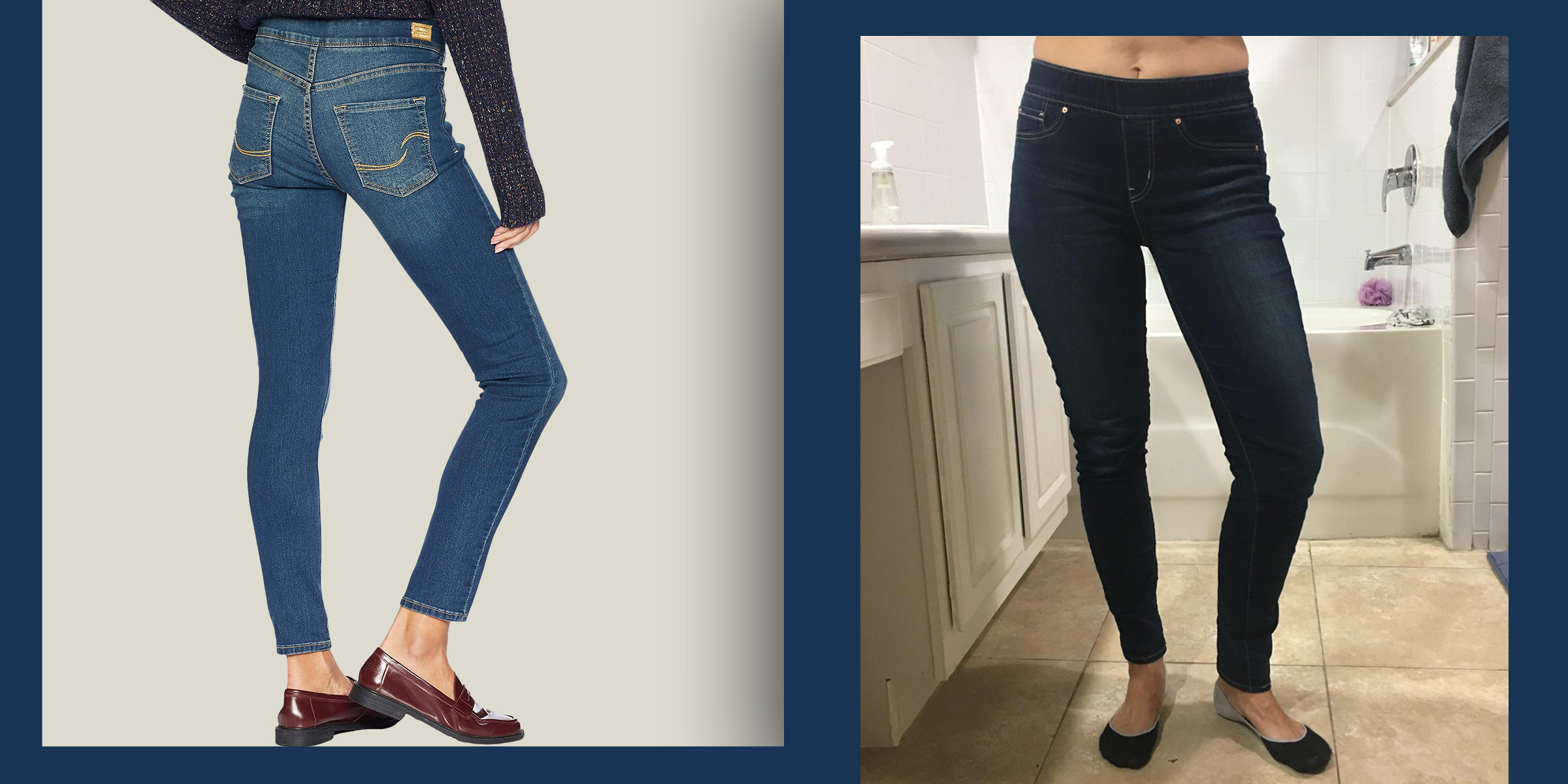shopping preview of autumn shoes People love these slimming jeans on Amazon