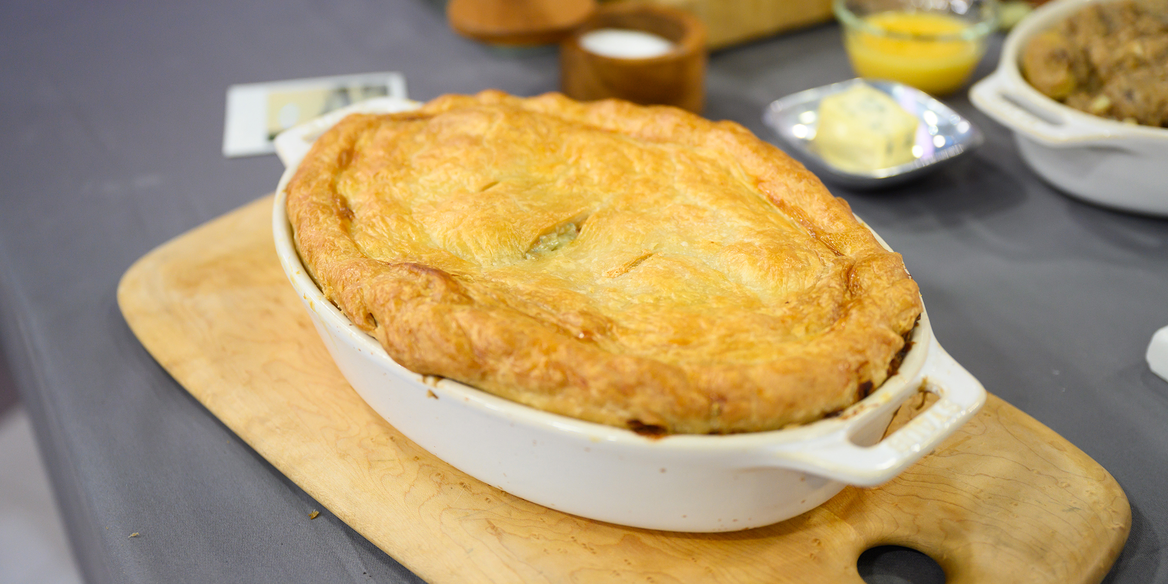 Recipe For Meat And Potato Pie With Suet Crust | Dandk ...