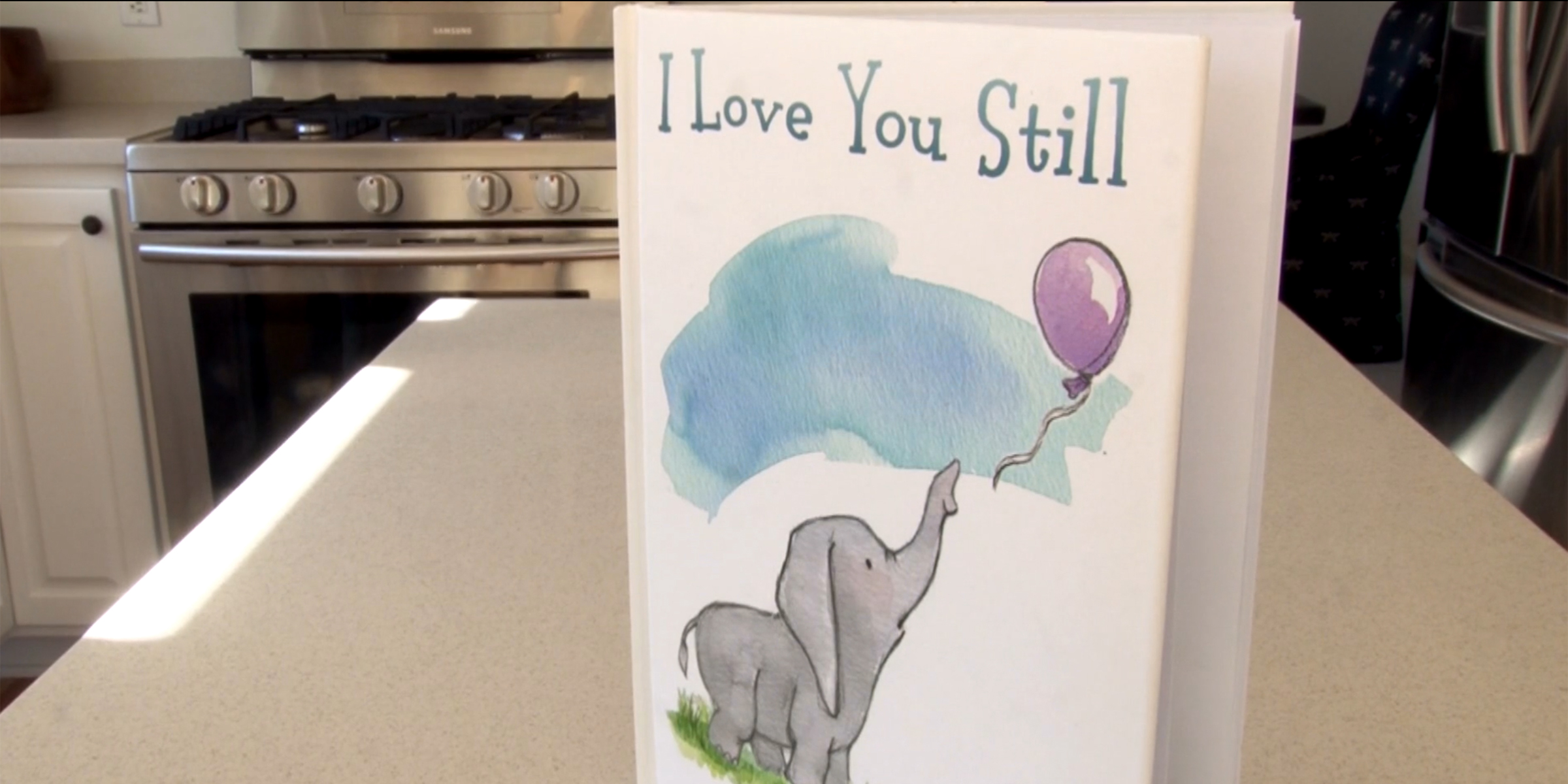 Woman creates special baby book for her friend after a miscarriage