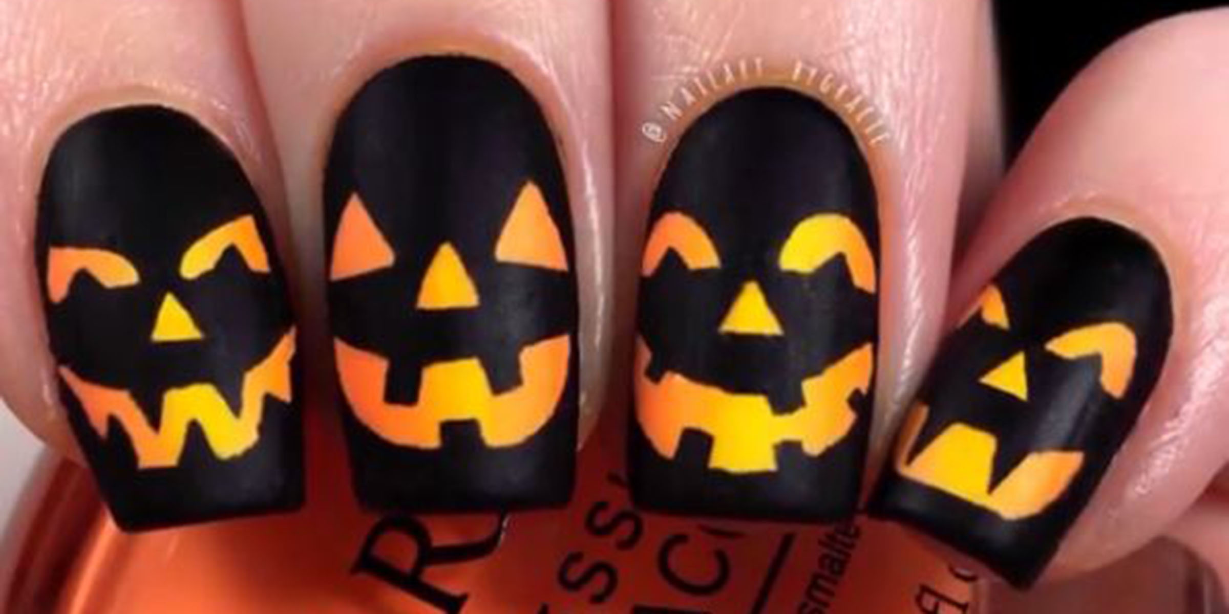 15 Halloween Nail Designs For Beginners And Experts Alike