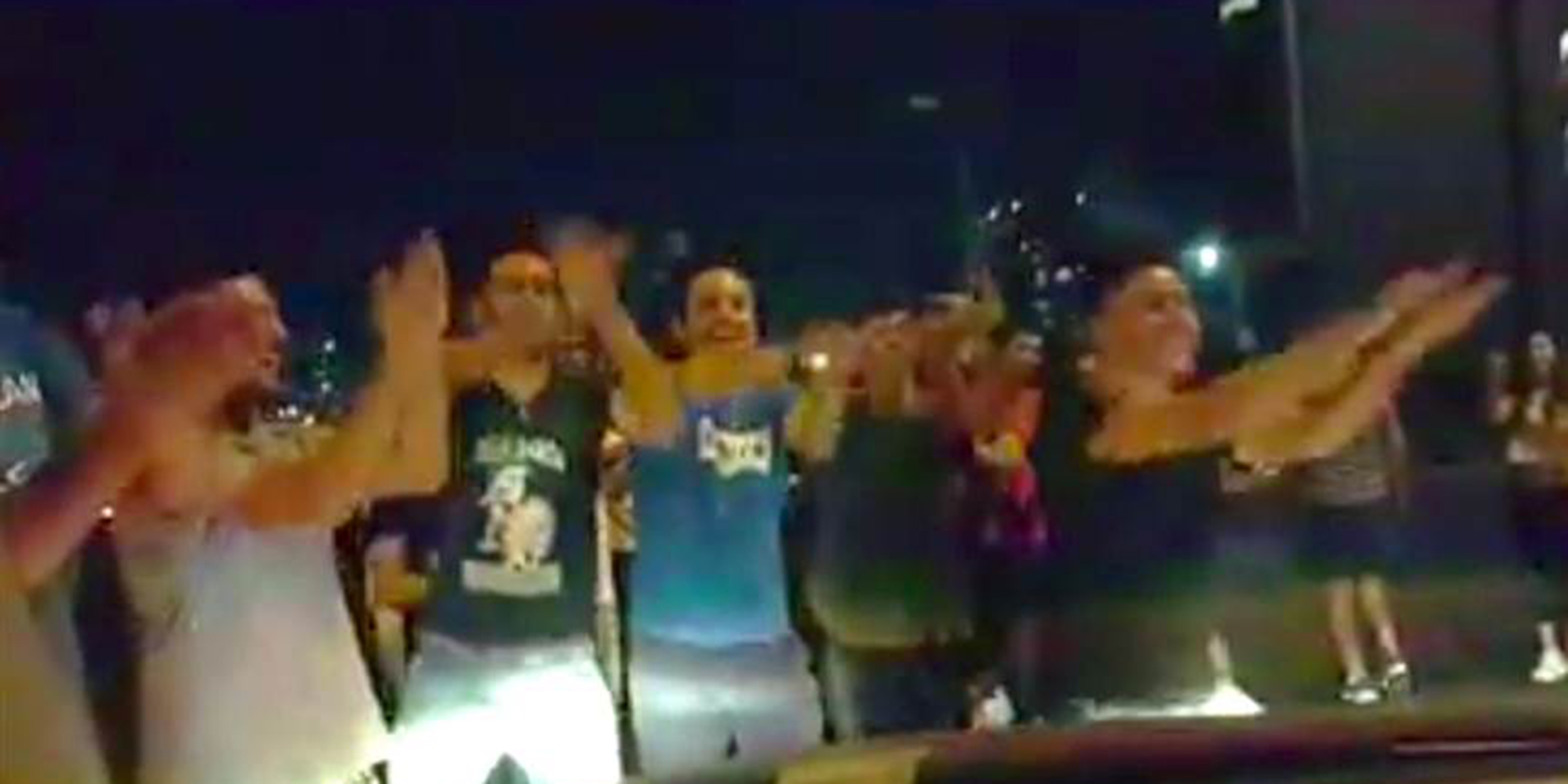 Lebanon protesters sing 'Baby Shark' to soothe a toddler