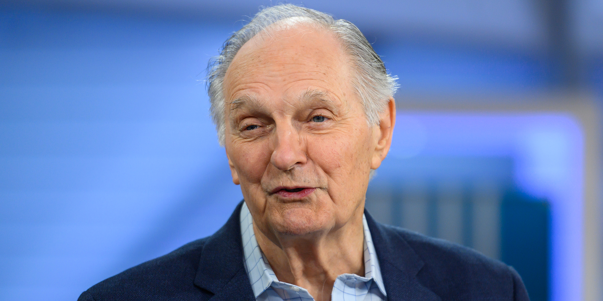 Alan Alda on living with Parkinson's disease: 'I feel good'