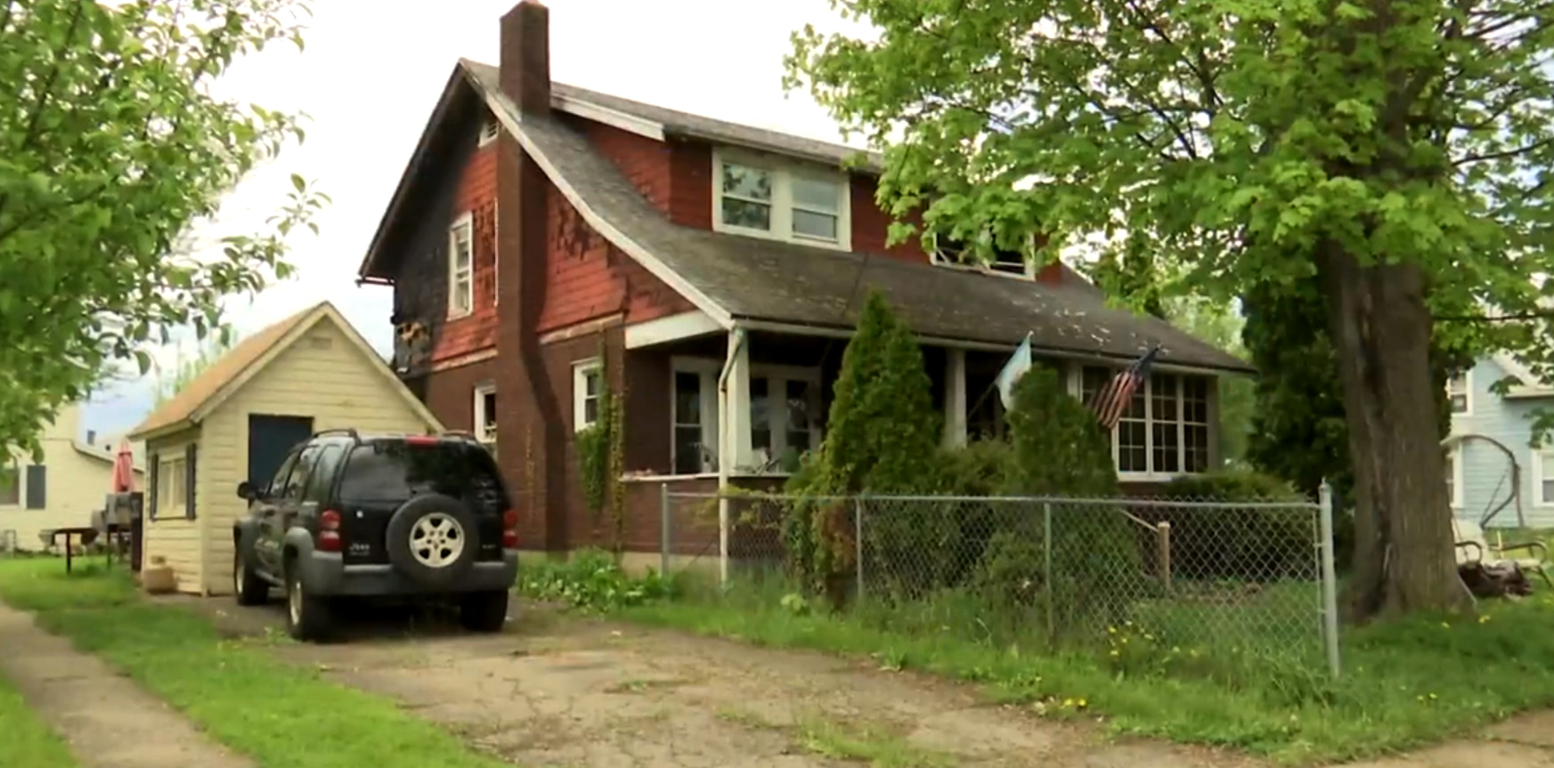 Brothers allegedly left grandma to die in fire while they saved meth equipment