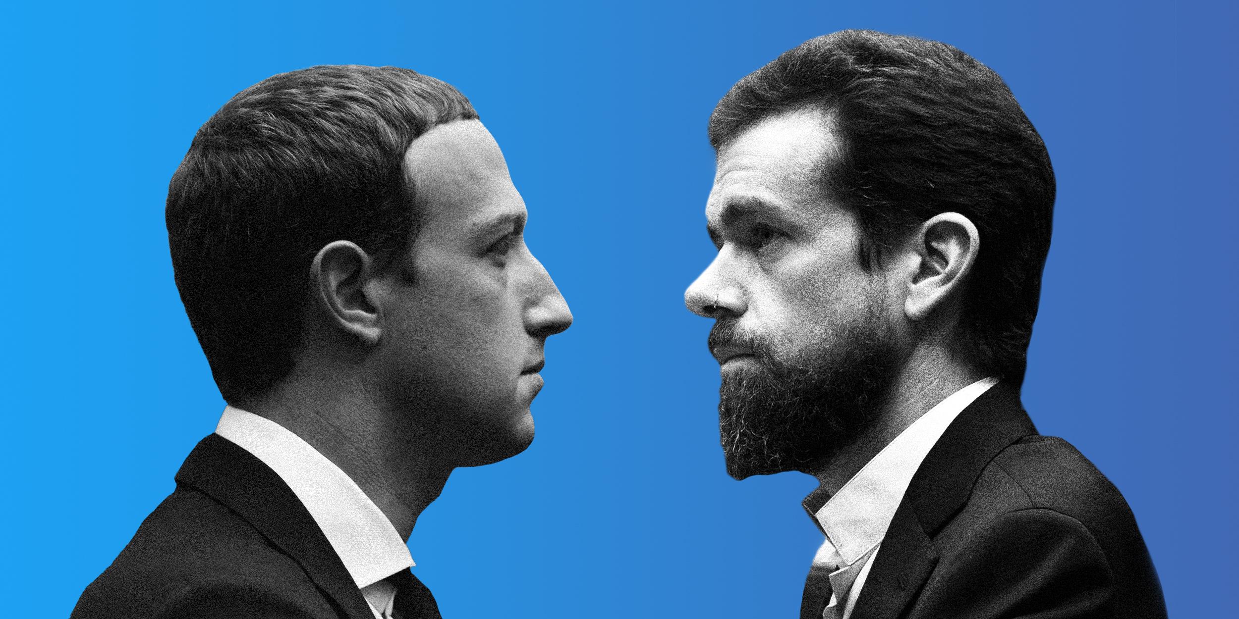 Jack Dorsey Vs Mark Zuckerberg Why The Clash Of The Tech Titans Matters