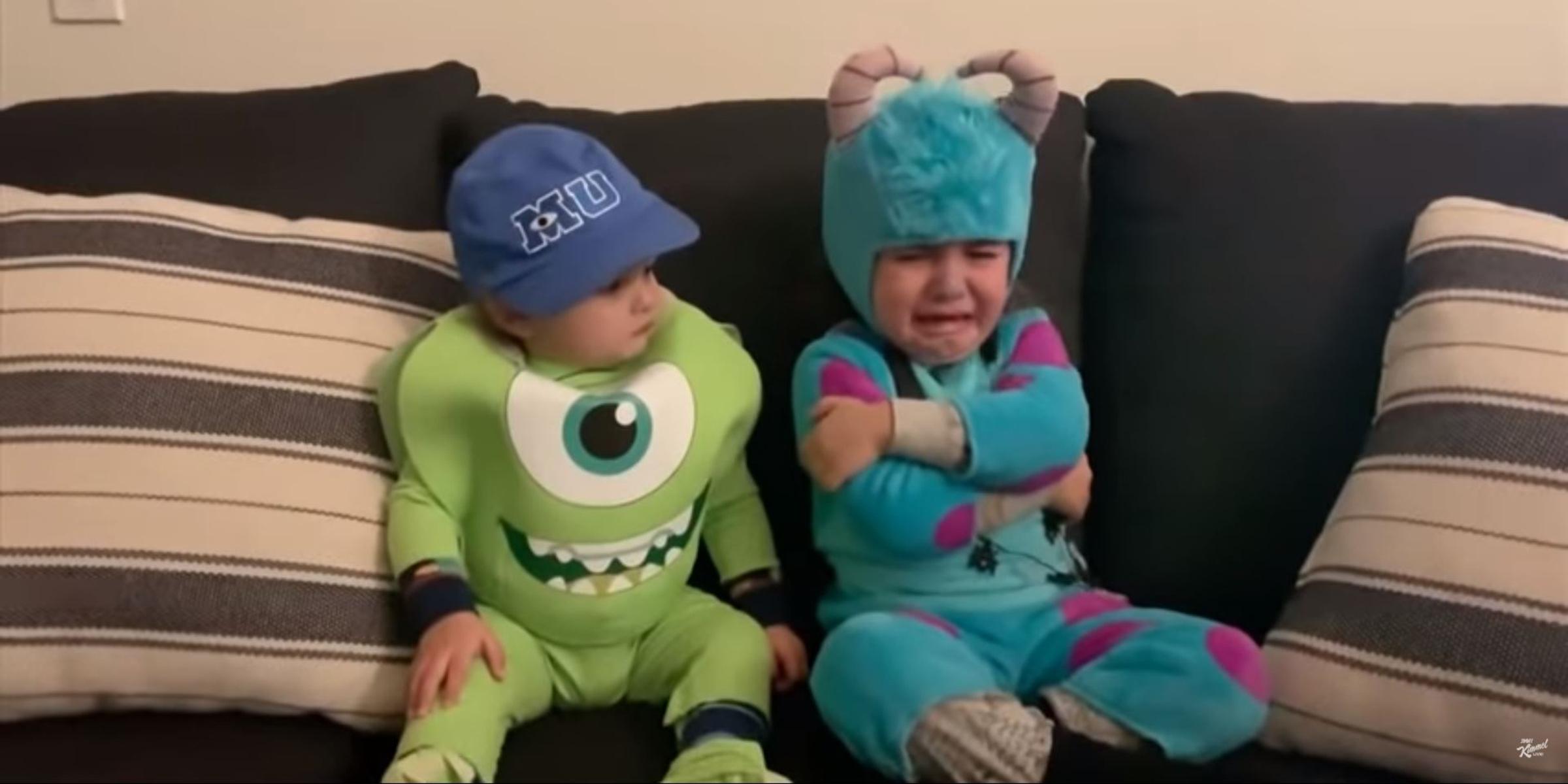 Jimmy Kimmel Halloween Candy Prank 2021.Jimmy Kimmel S Halloween Candy Challenge Has Kids All Fired Up
