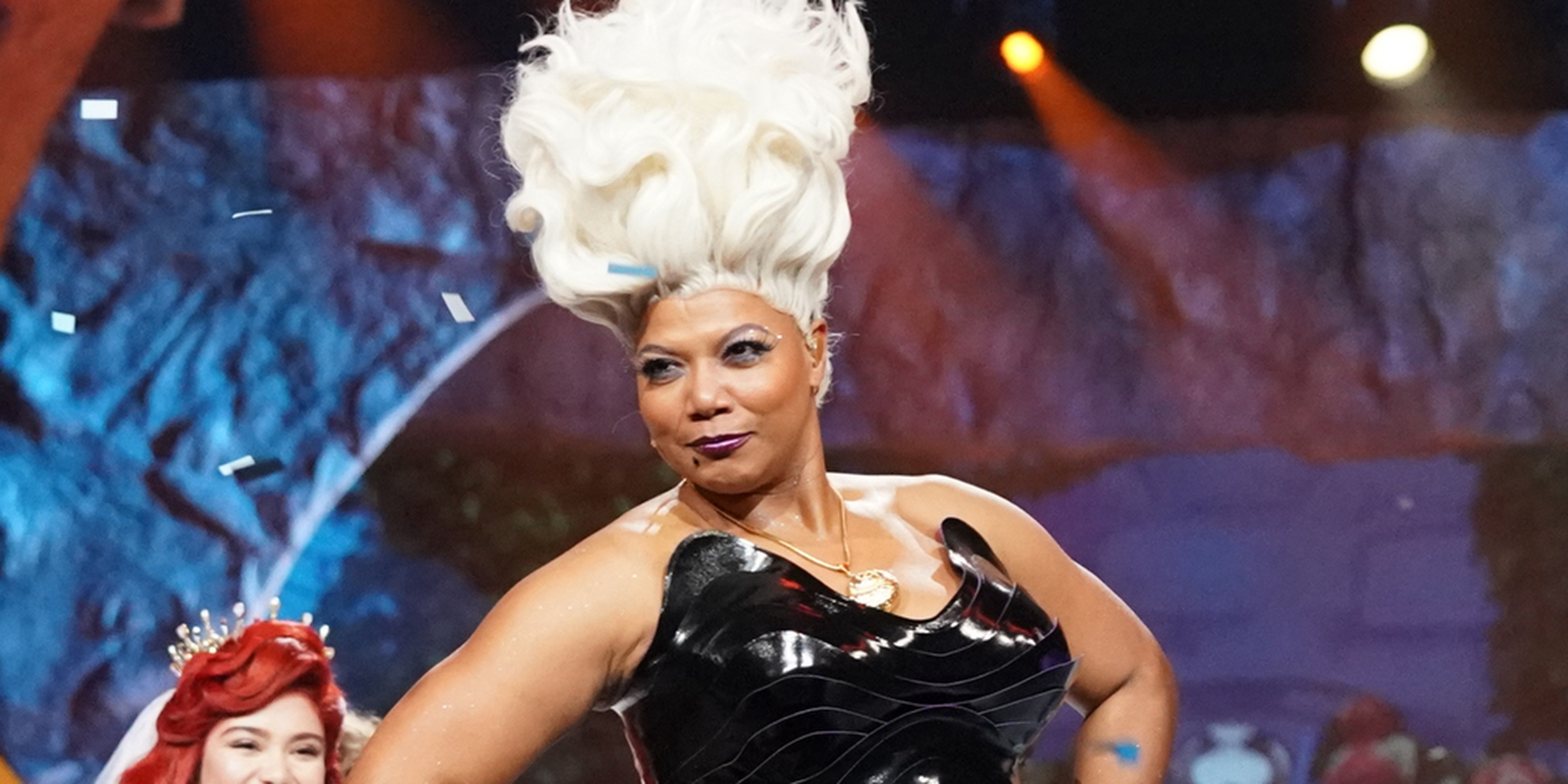 Queen Latifah stole the show as Ursula in 'The Little Mermaid Live!'