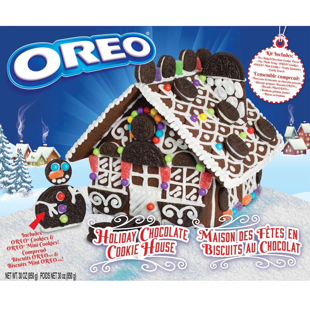 Oreo Just Released A Holiday Cookie House Kit Here S Where To Find It