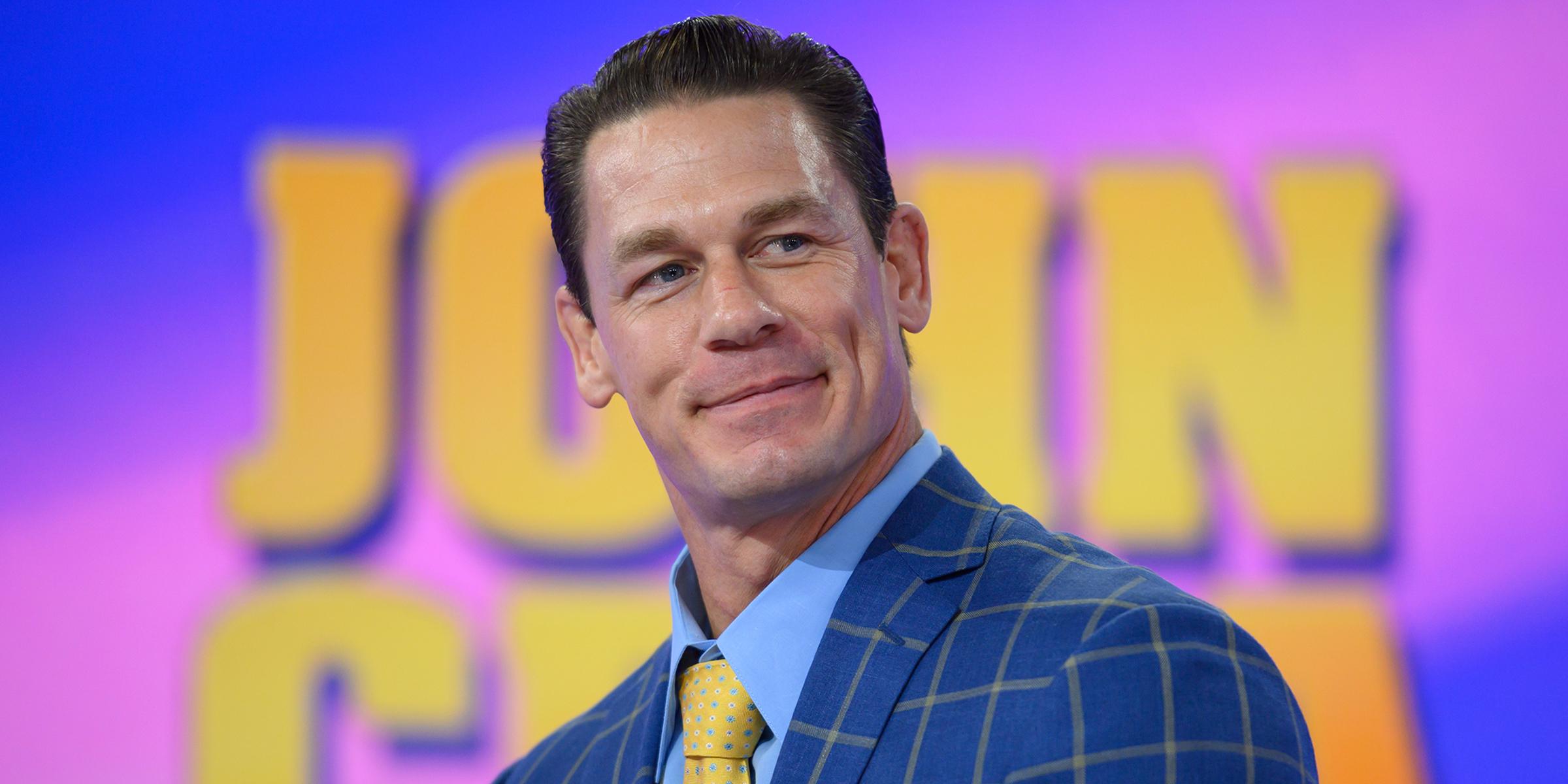 John Cena: 'I'm extremely happy' in my new relationship