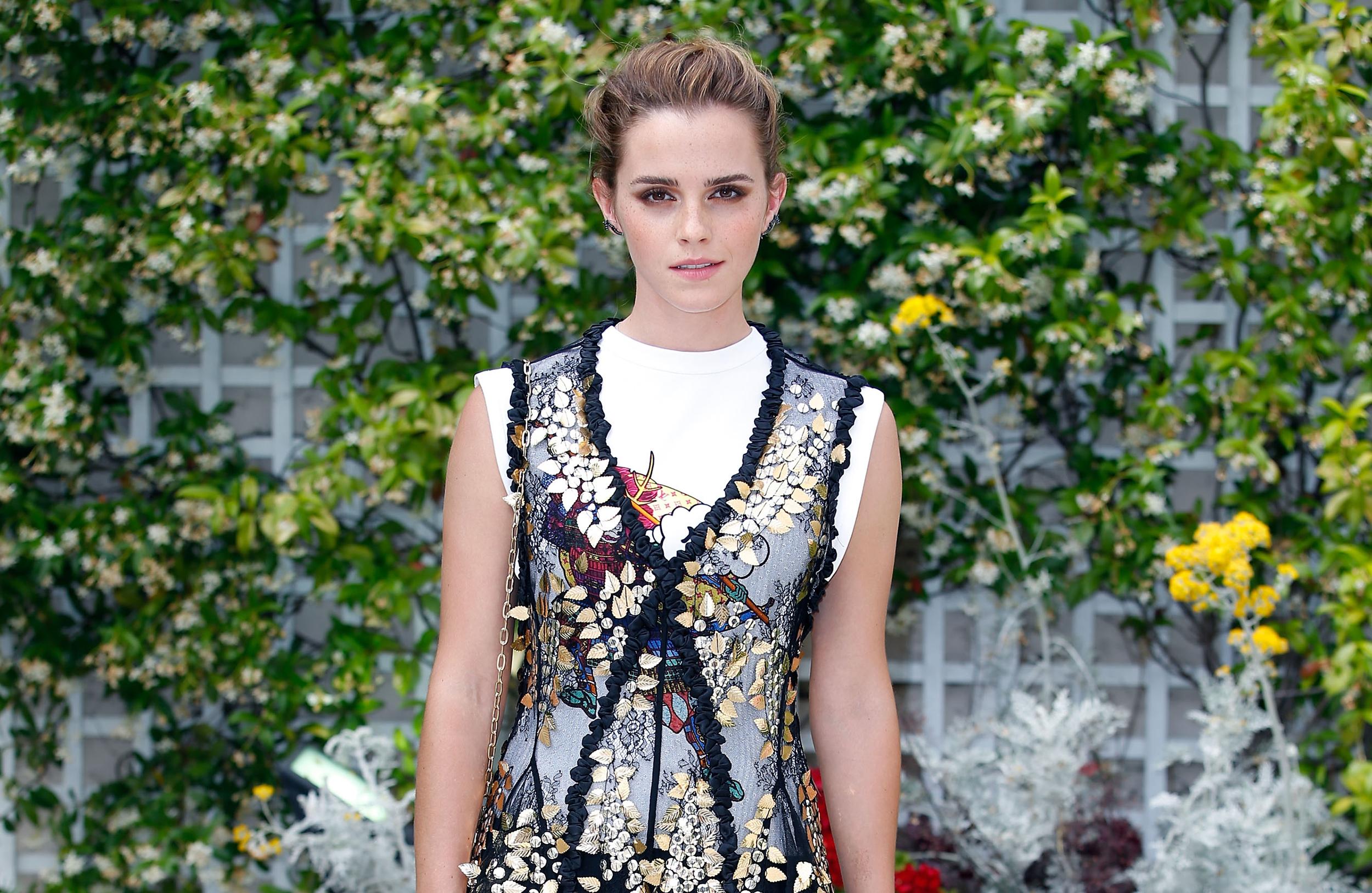 Watson partner emma Emma Watson