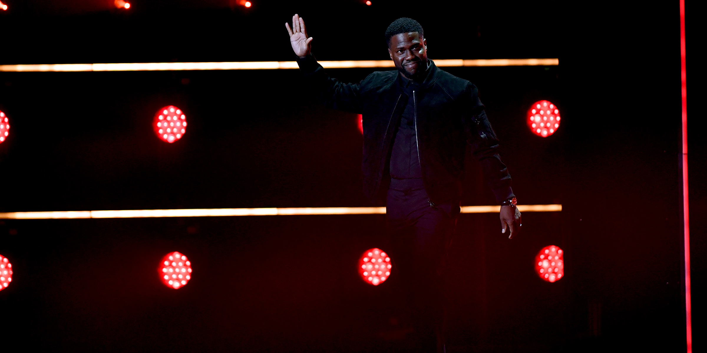 Image result for Kevin Hart Makes First Public Appearance Since Car Crash