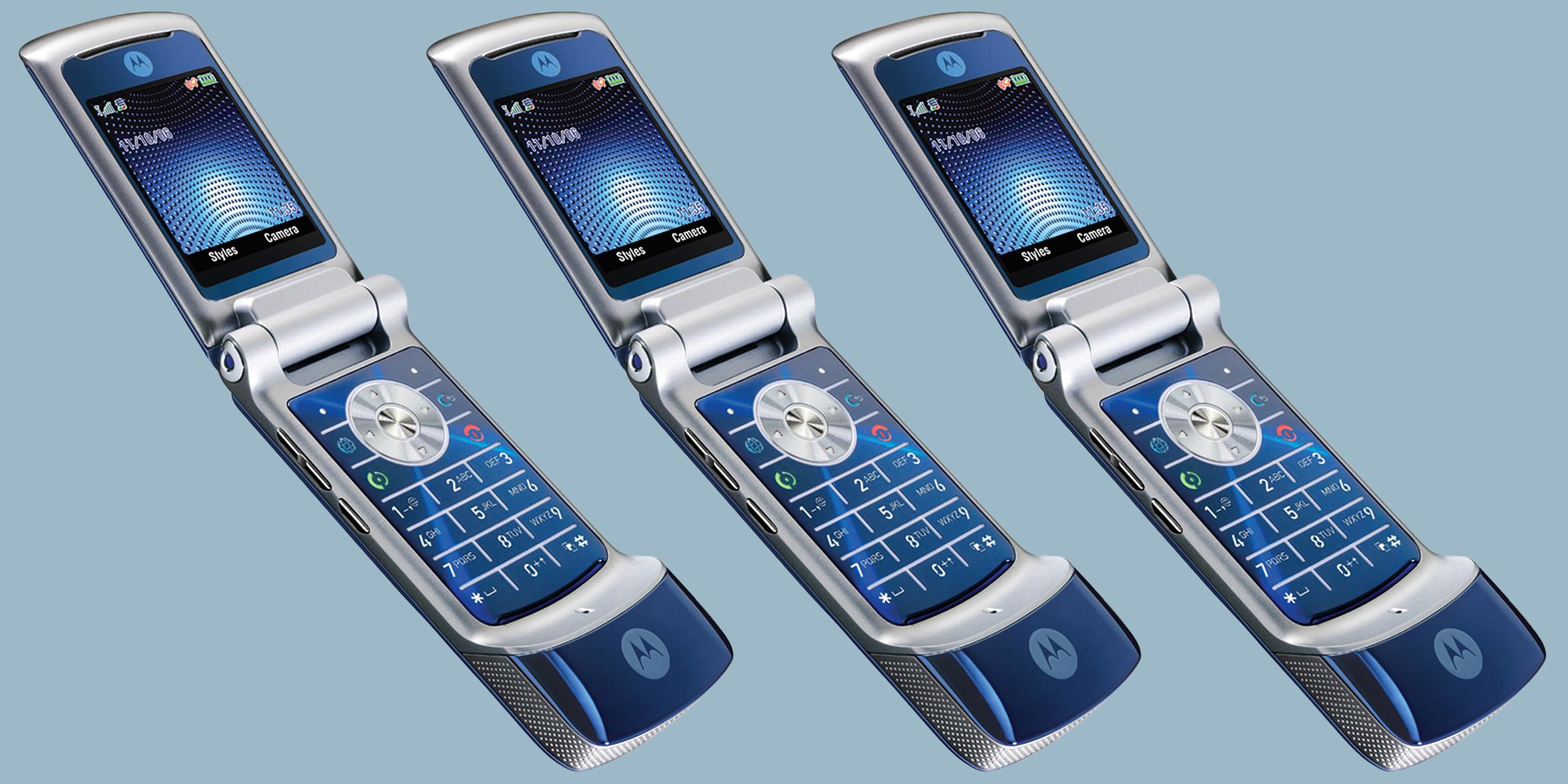 Verizon Is Bringing Back The Motorola Razr Flip Phone