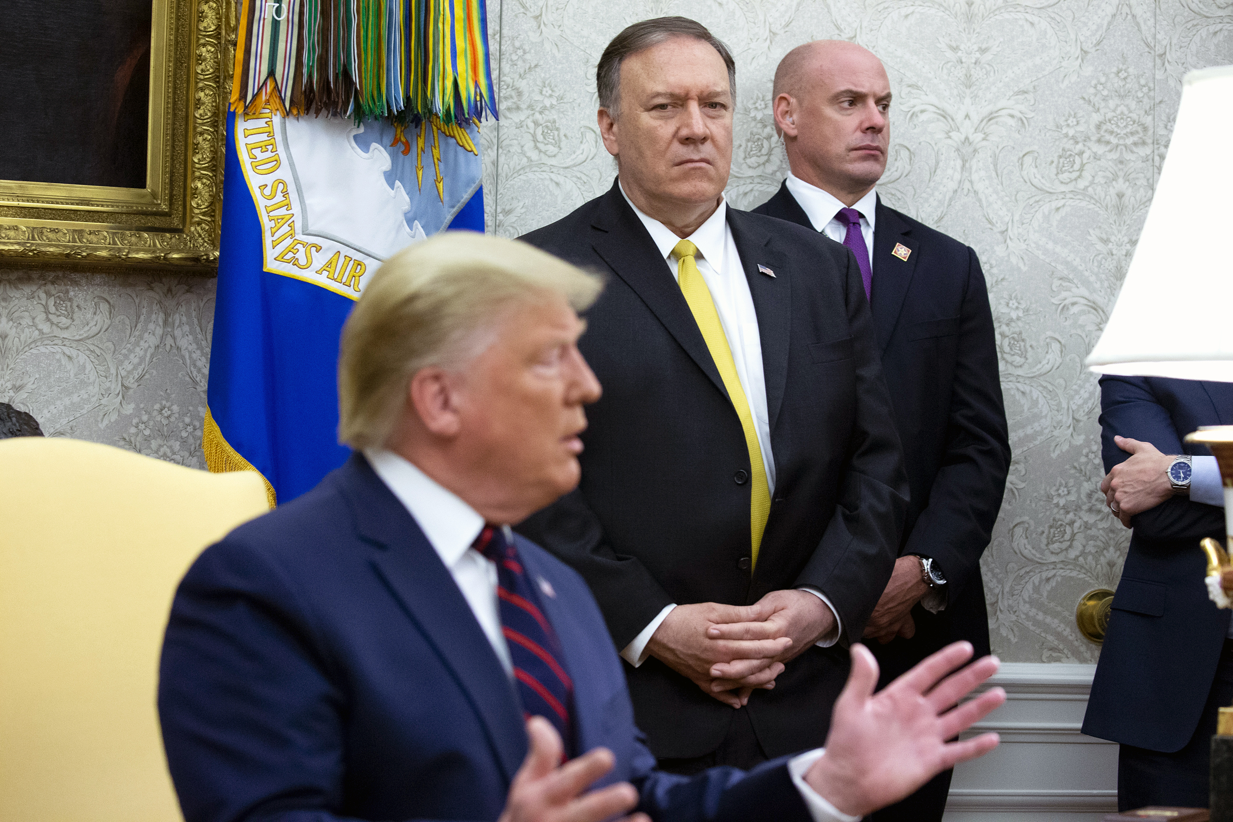 Trump's-impeachment-ire-turns-on-Pompeo-amid-diplomats'-starring-roles