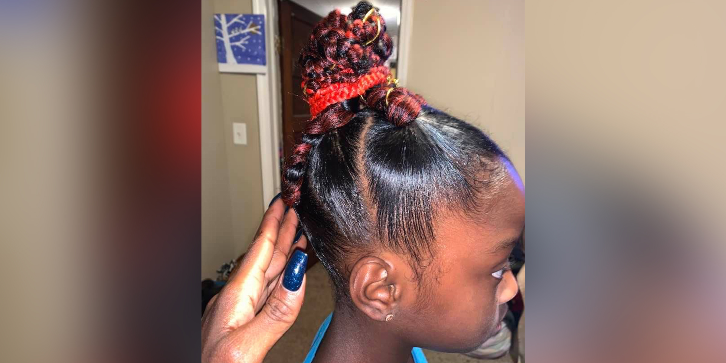 See what happened after a girl was denied a class picture because of her hair