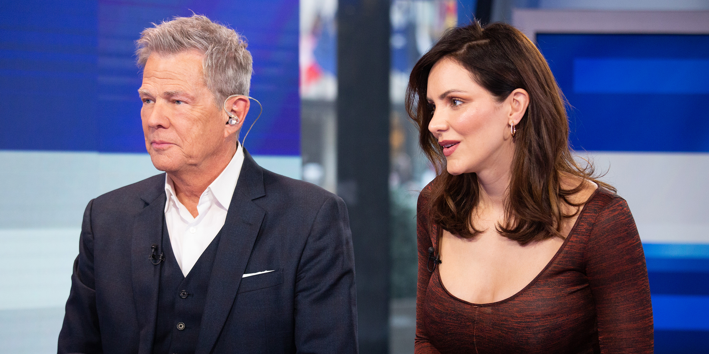 Katharine Mcphee Foster And David Foster Talk Romance A Natural Coming Together